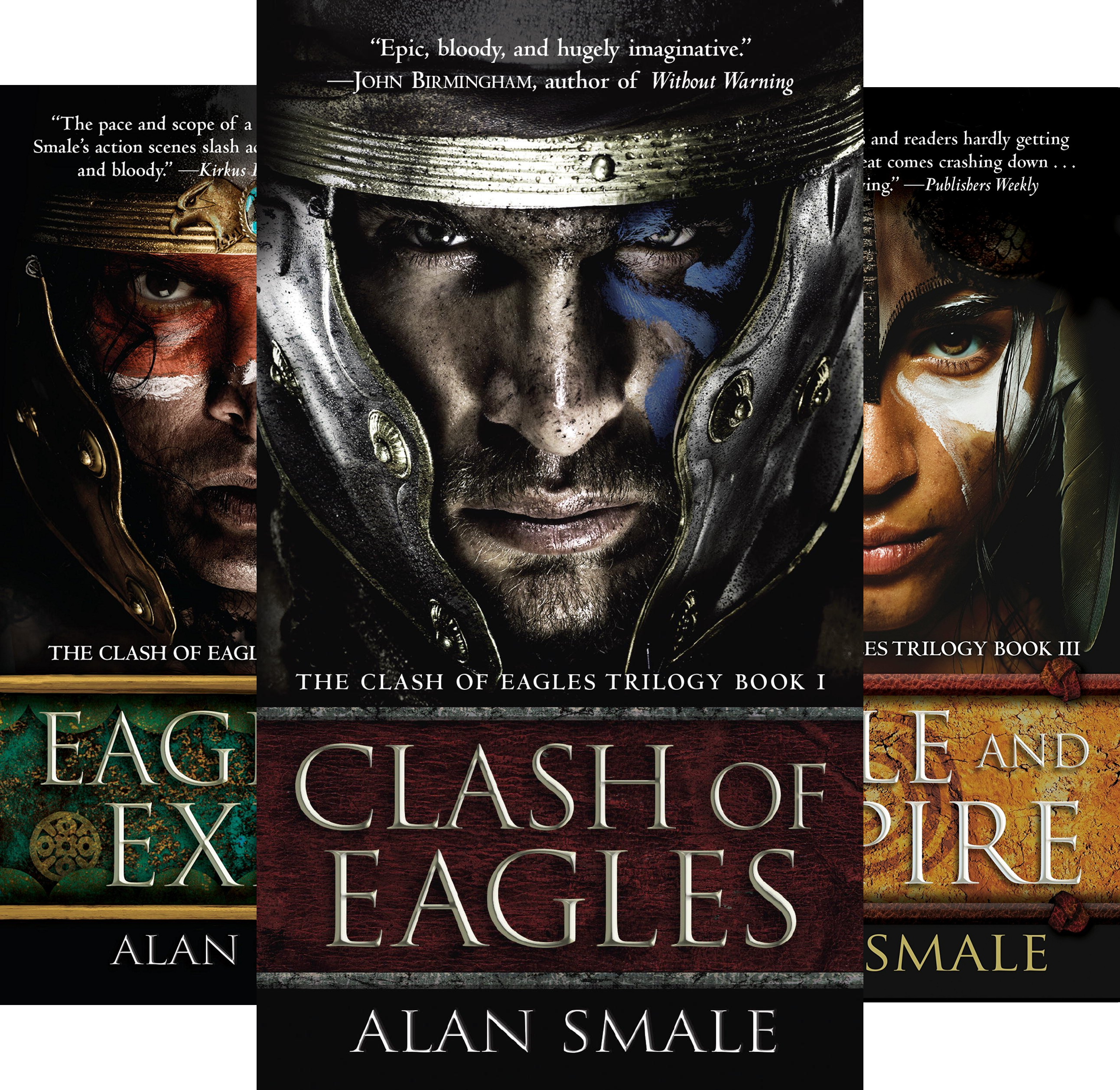The Clash Of Eagles Trilogy (3 Book Series)