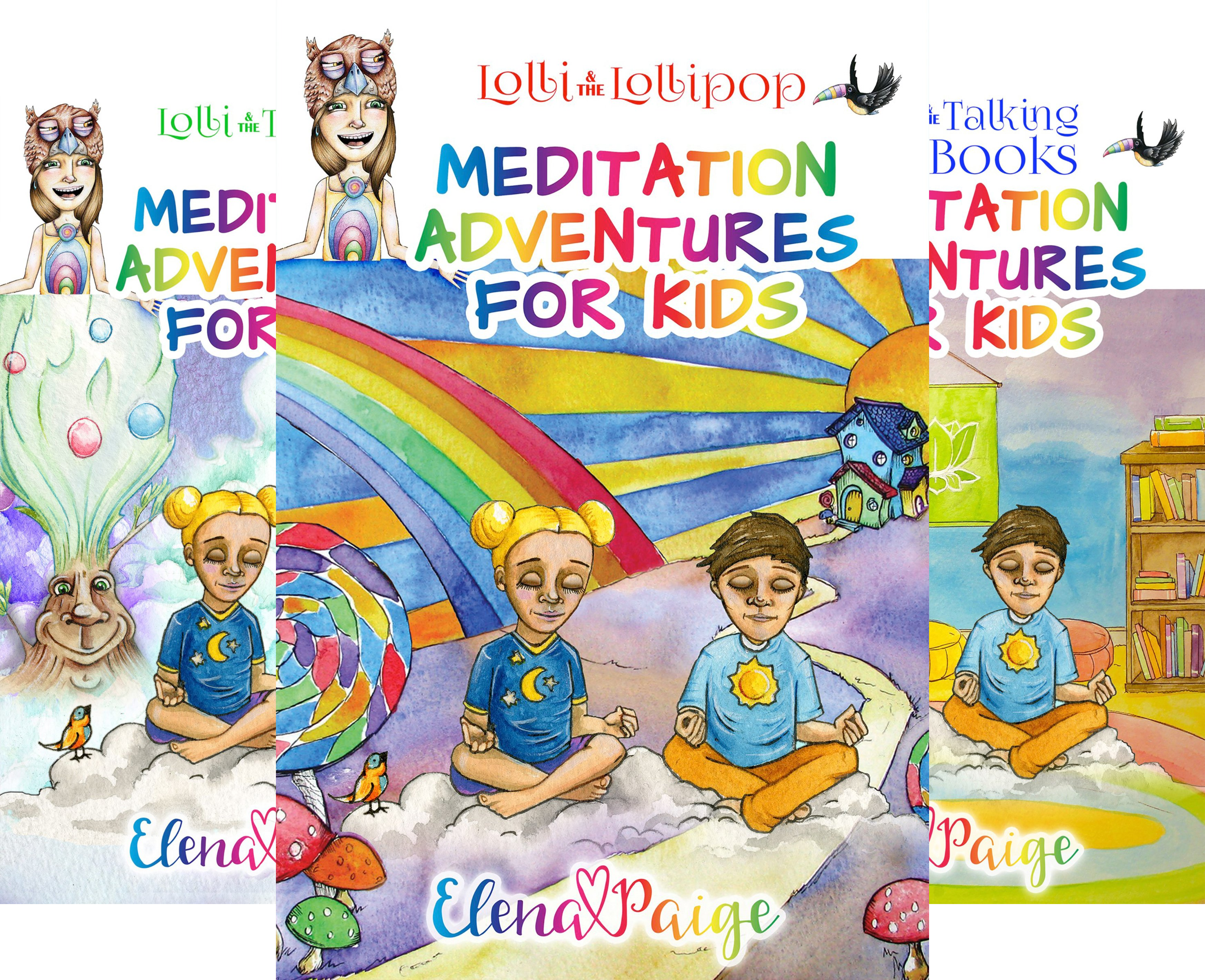 MEDITATION ADVENTURES FOR KIDS (5 Book Series)