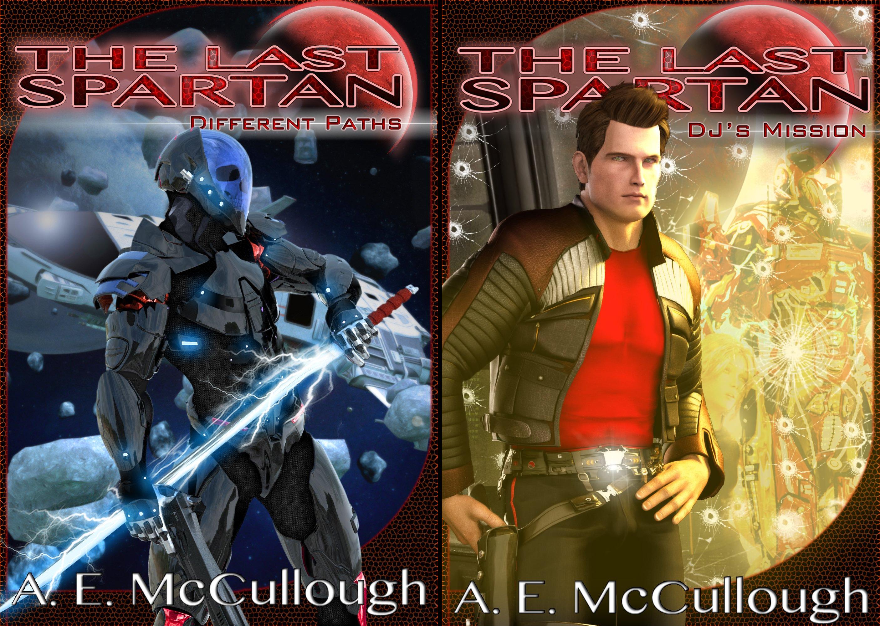 The Last Spartan (2 Book Series)