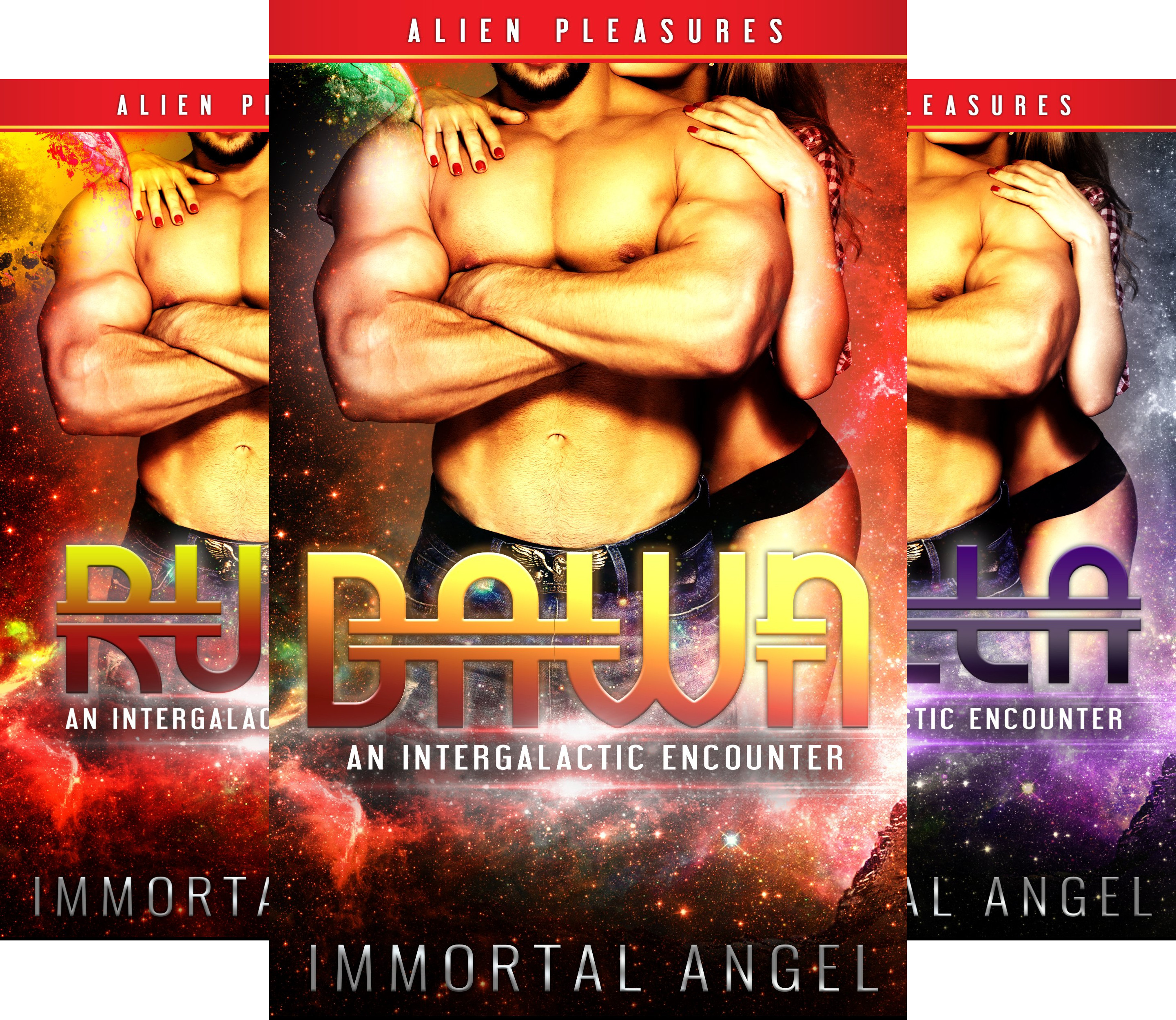 Erotic Intergalactic Encounters (3 Book Series)