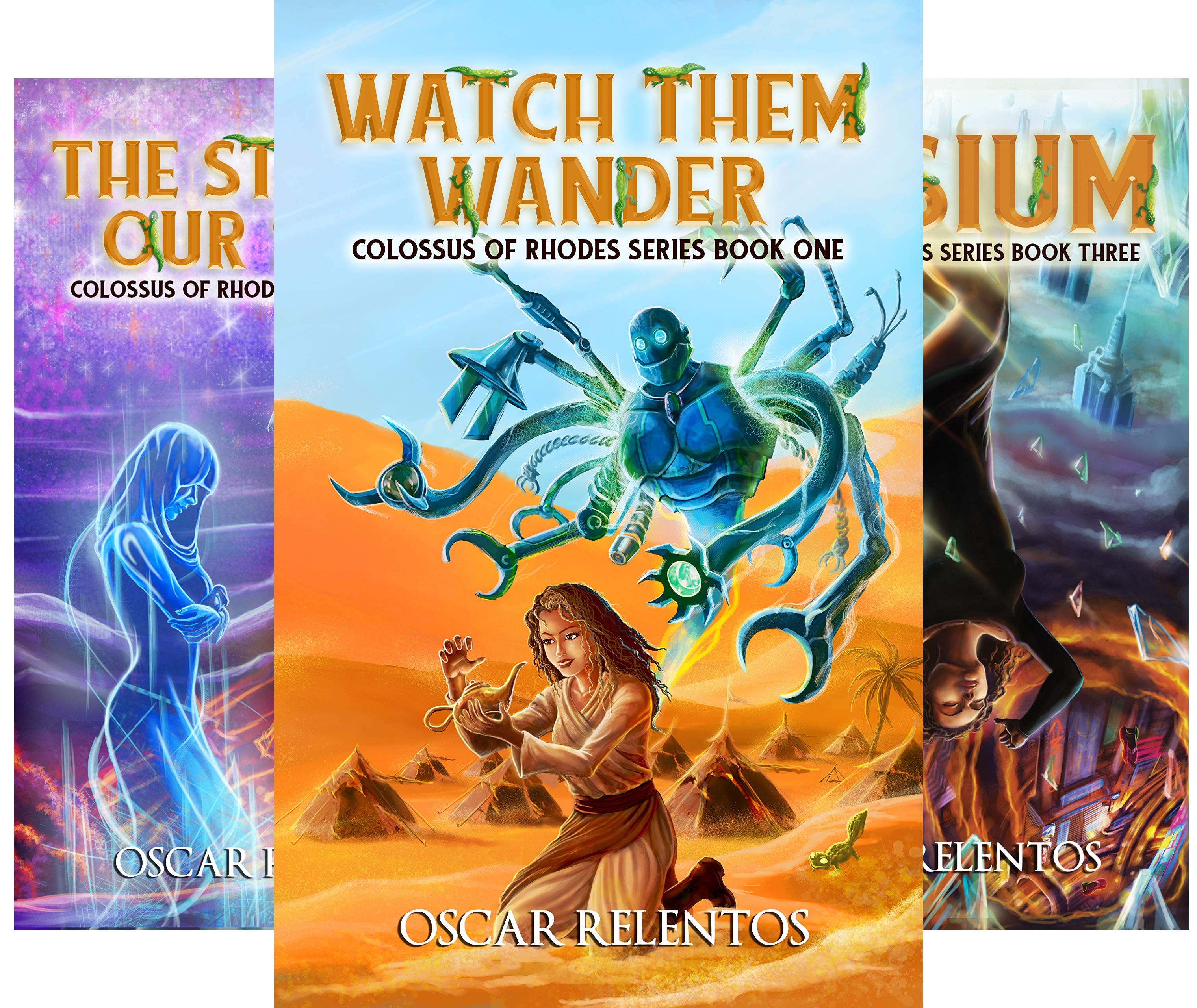 Colossus of Rhodes Series (3 Book Series)
