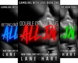Gambling With Love (6 Book Series) by  Lane Hart