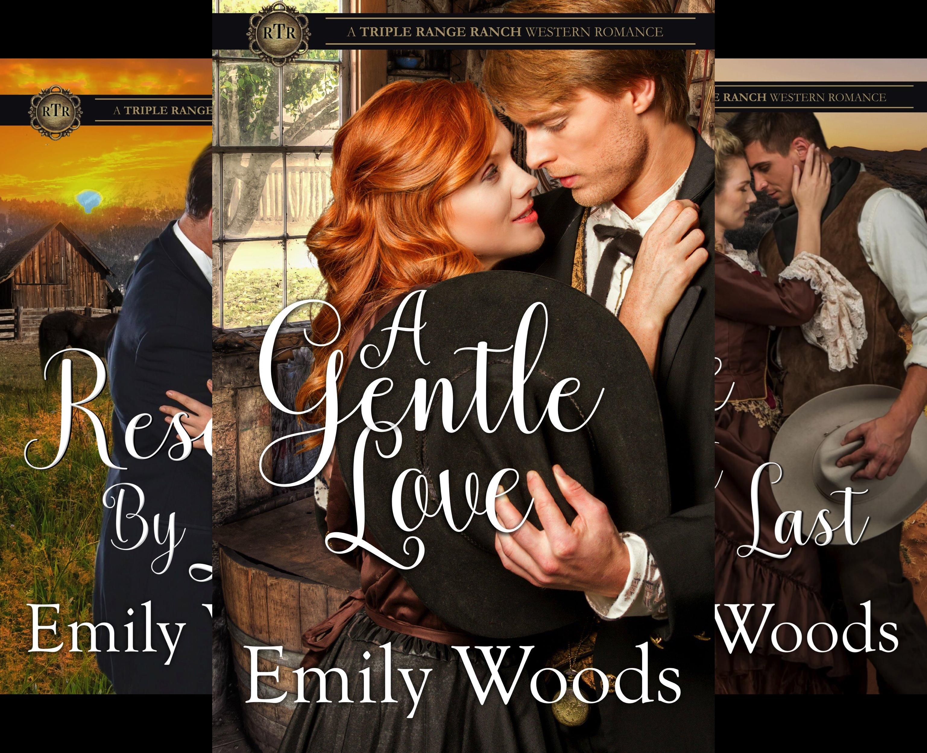 Triple Range Ranch Western Romance (3 Book Series)