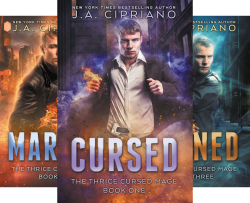 The Thrice Cursed Mage (6 Book Series) by  J.A. Cipriano