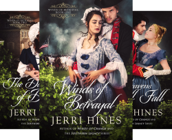 Winds of Betrayal (4 Book Series) by  Jerri Hines