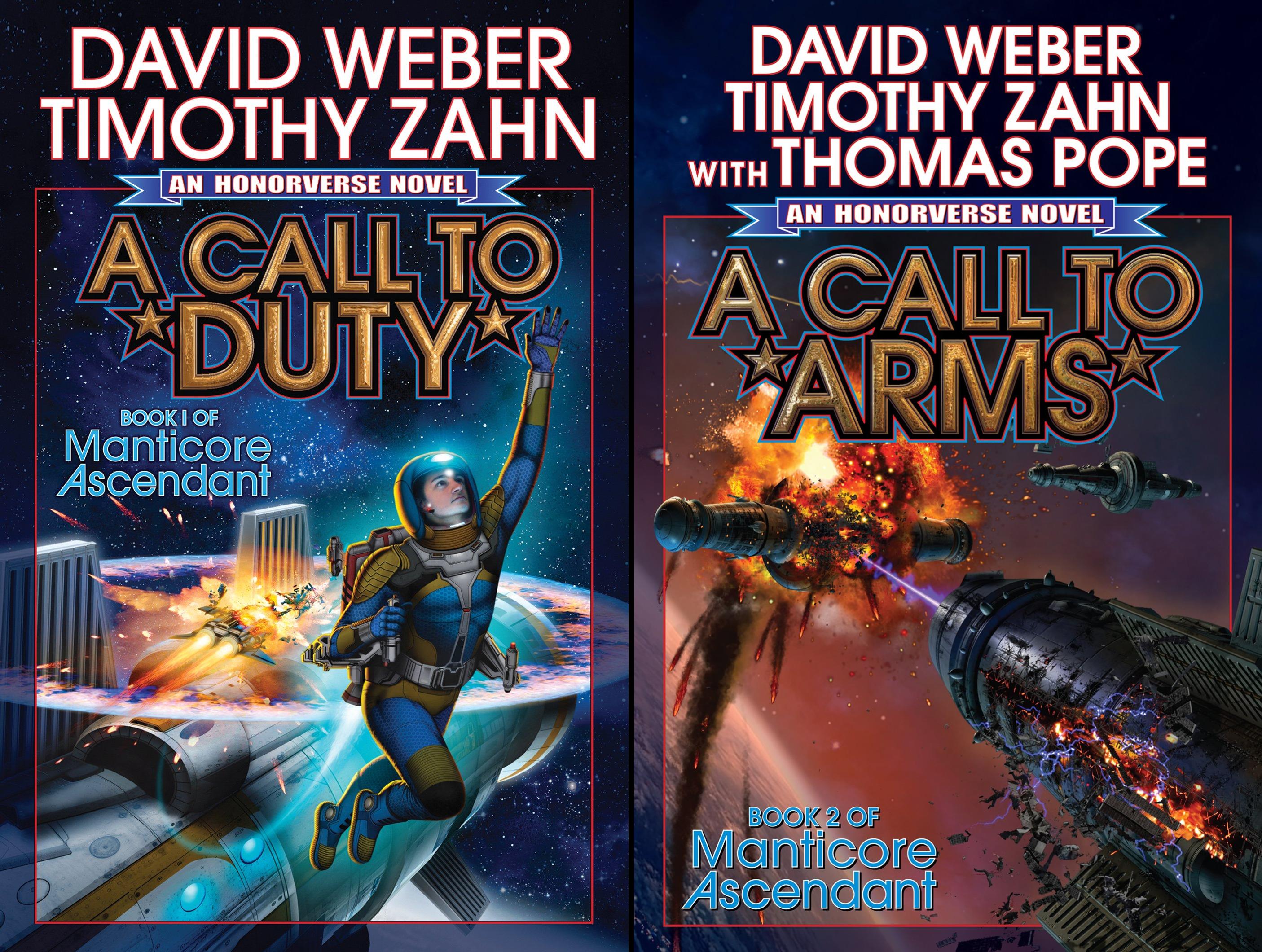 Manticore Ascendant Series (2 Book Series)