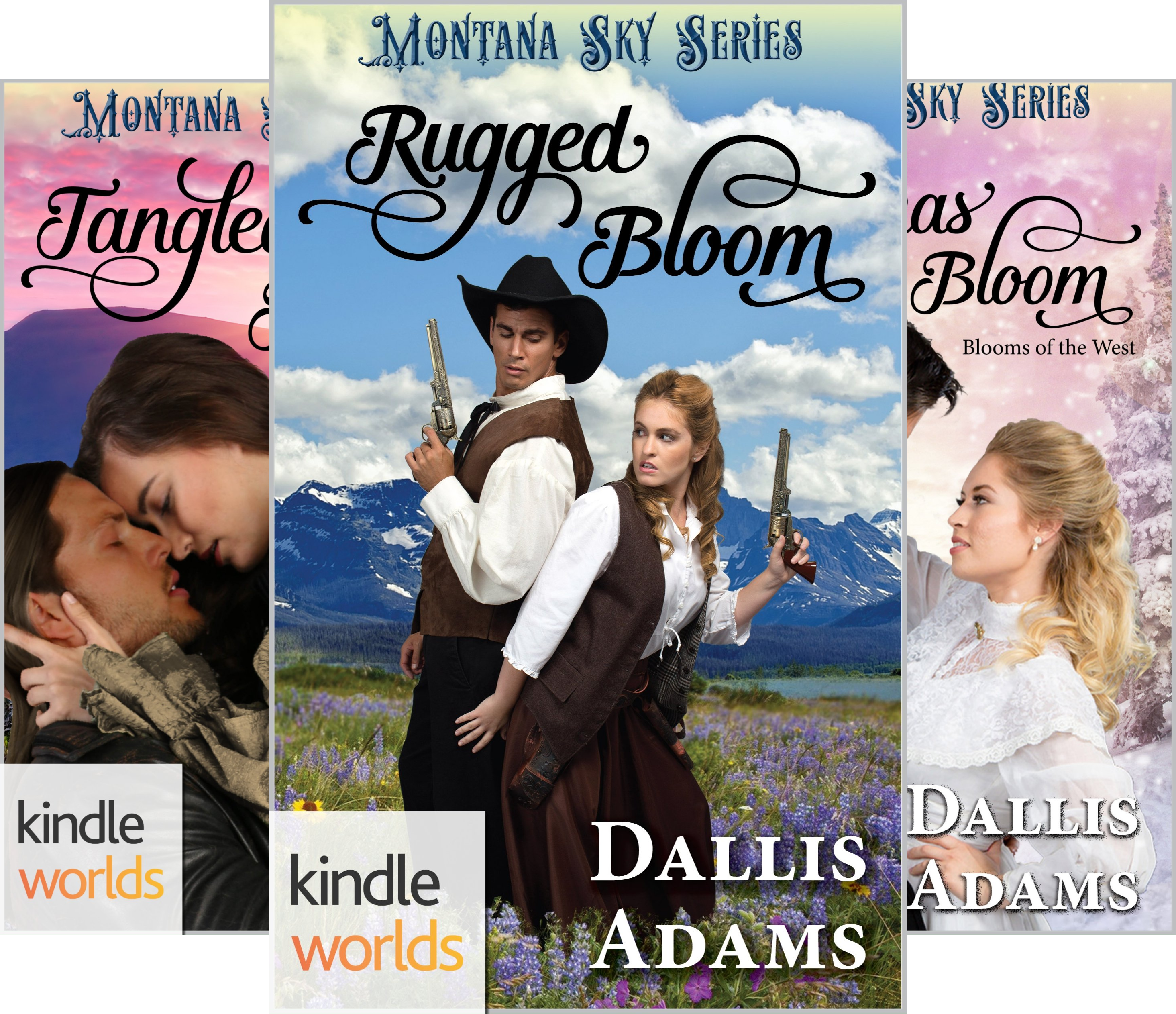 Blooms of the West (3 Book Series)