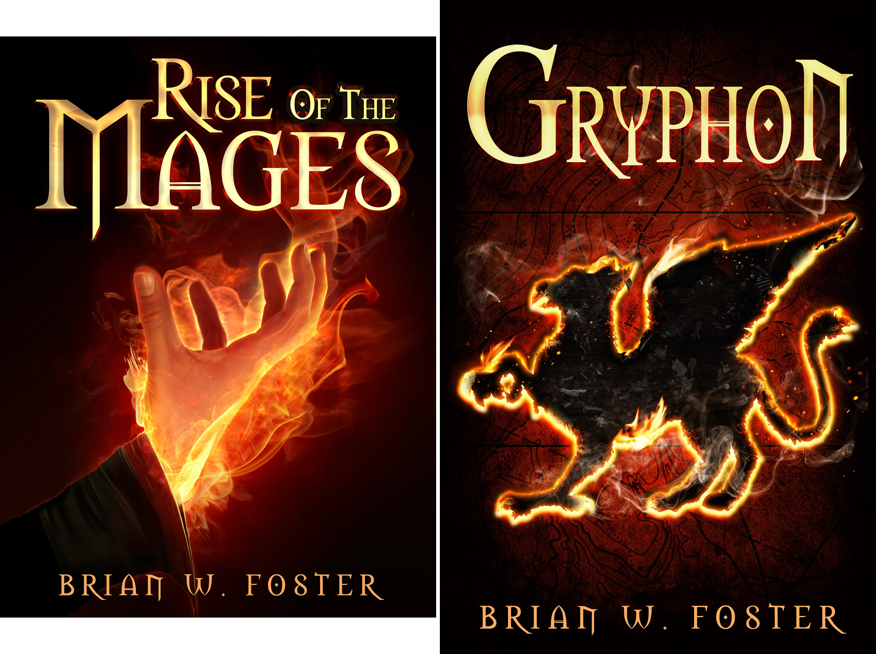 Rise of the Mages (2 Book Series)
