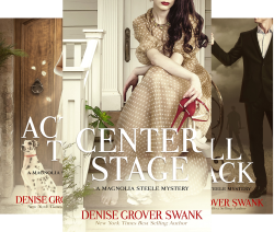 Magnolia Steele Mystery (4 Book Series) by  Denise Grover Swank Grover Swank, Denise