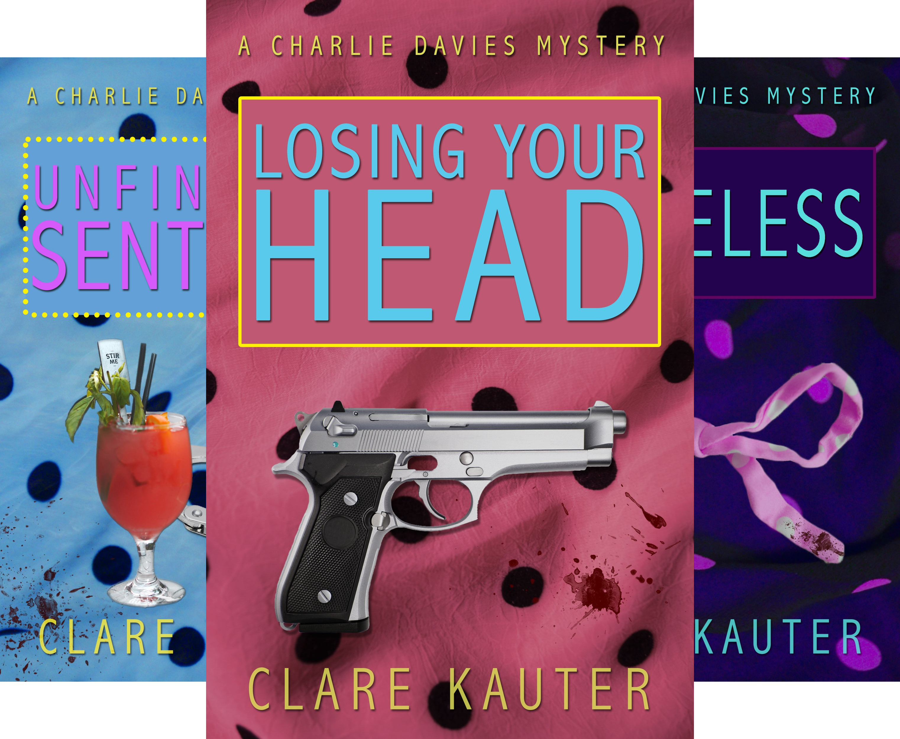 The Charlie Davies Mysteries (7 Book Series)