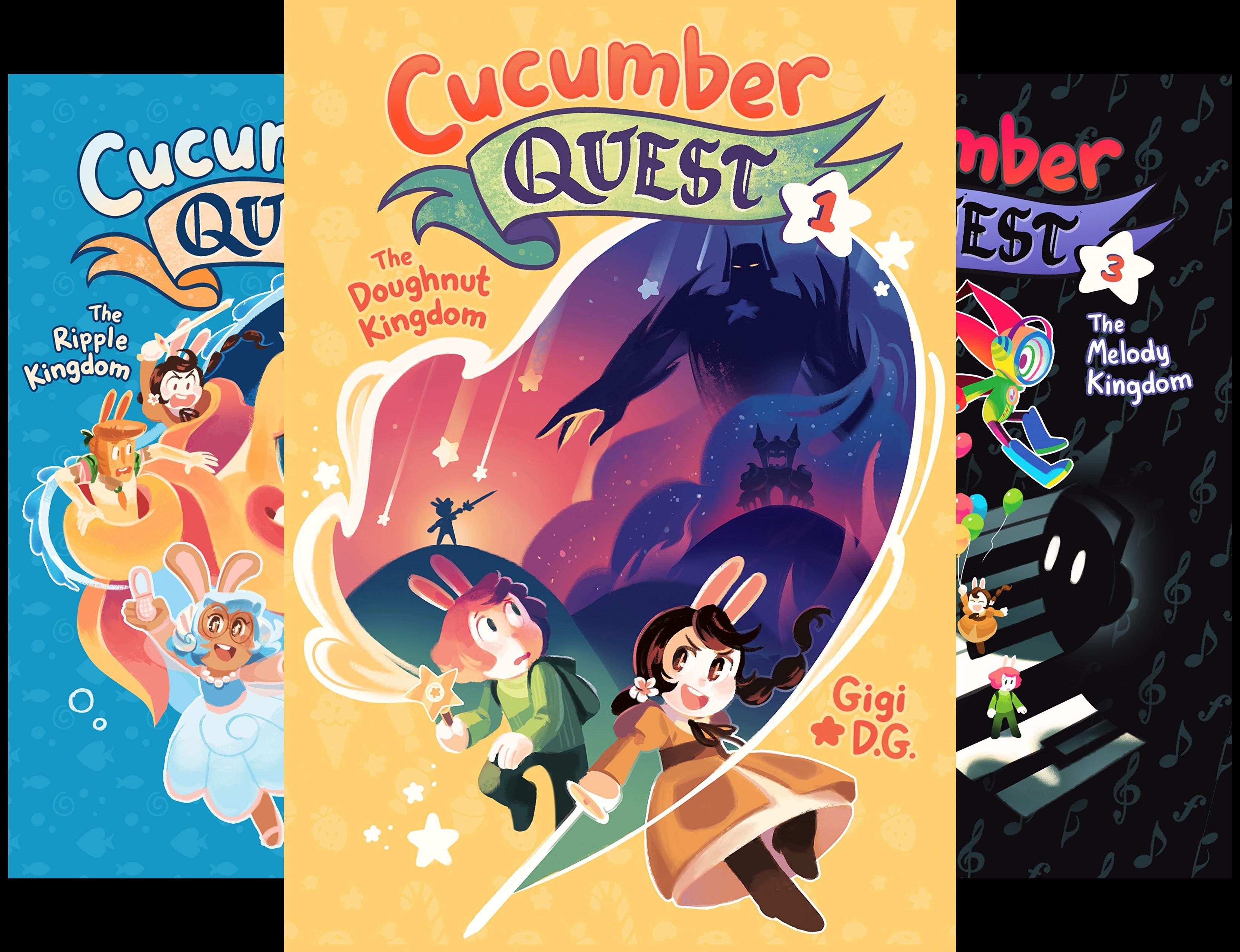 Cucumber Quest (3 Book Series)