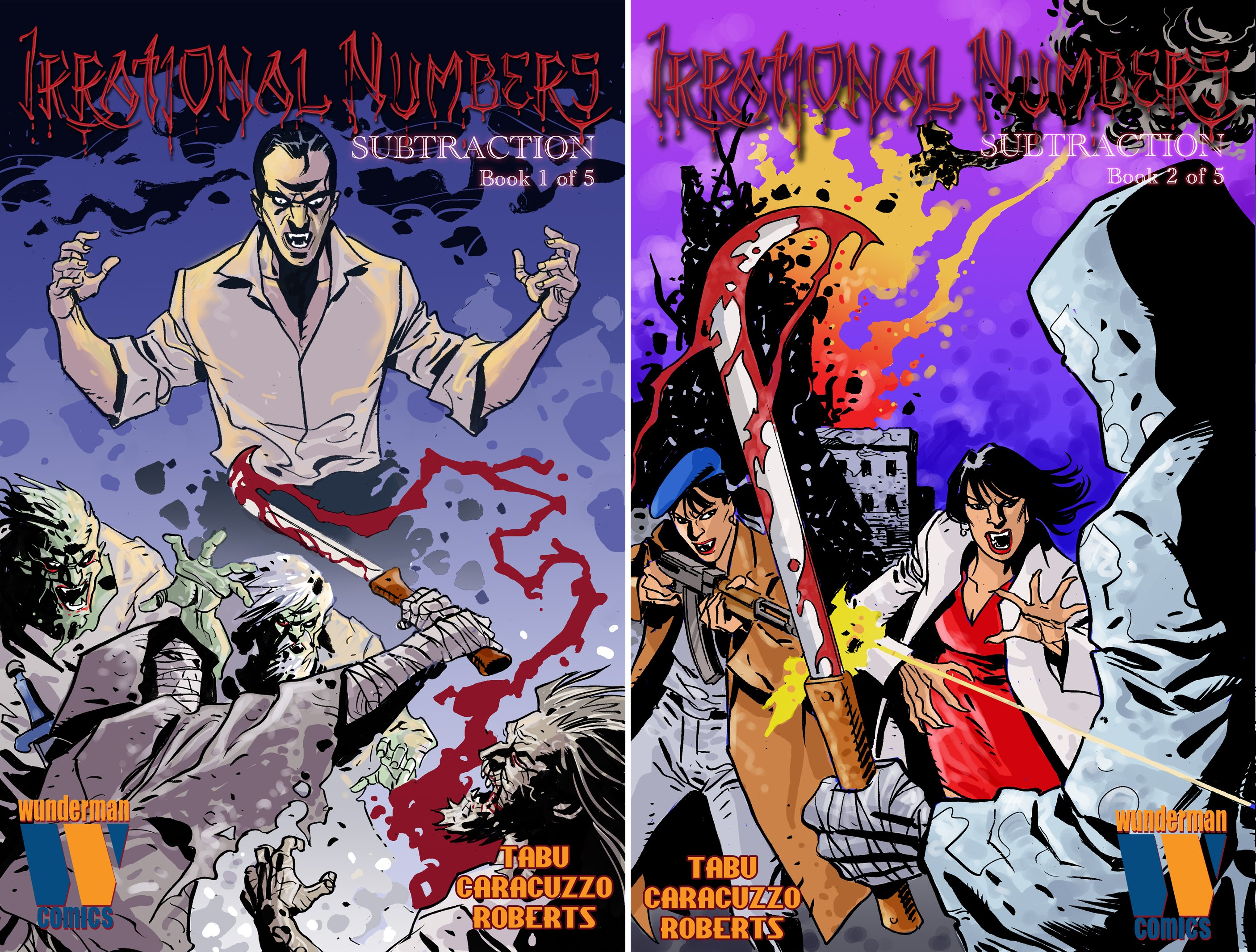 Irrational Numbers (2 Book Series)