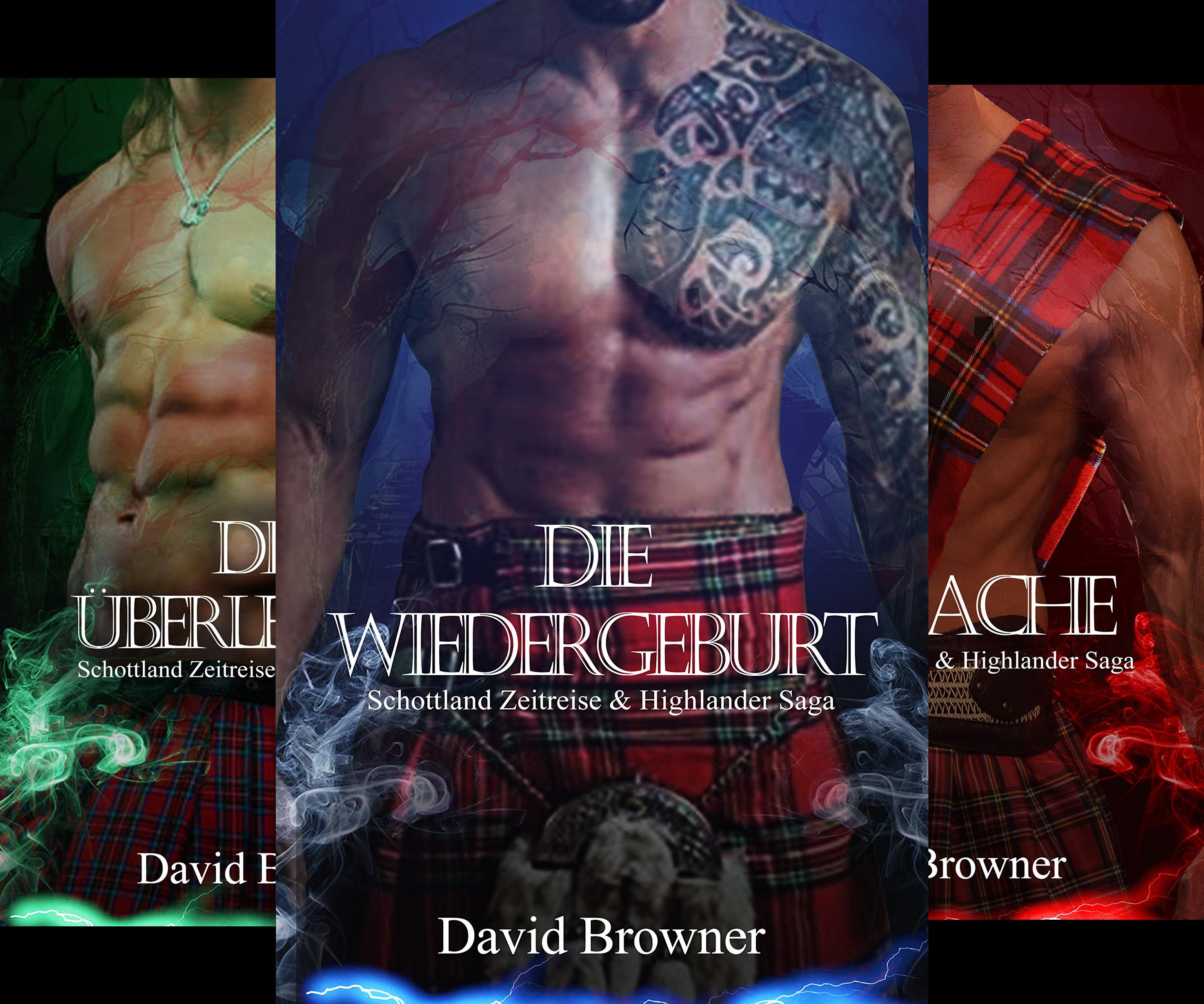 Schottland Zeitreise & Highlander Saga (Reihe in 3 Bänden)