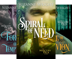 Mercury Pack (3 Book Series) by  Suzanne Wright