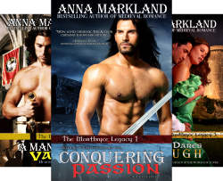 The Montbryce Legacy Medieval Romance (4 Book Series) by  Anna Markland