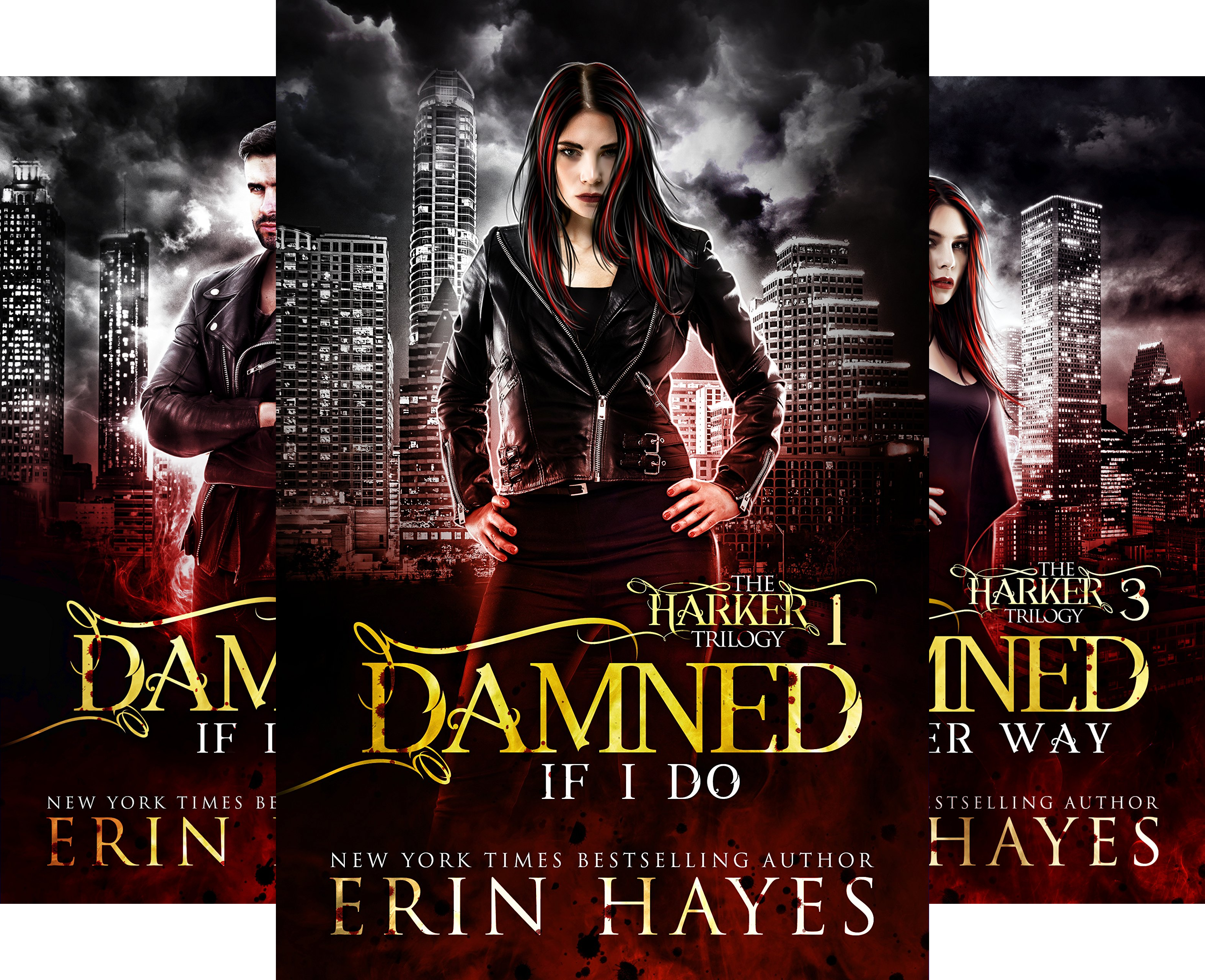 The Harker Trilogy (3 Book Series)