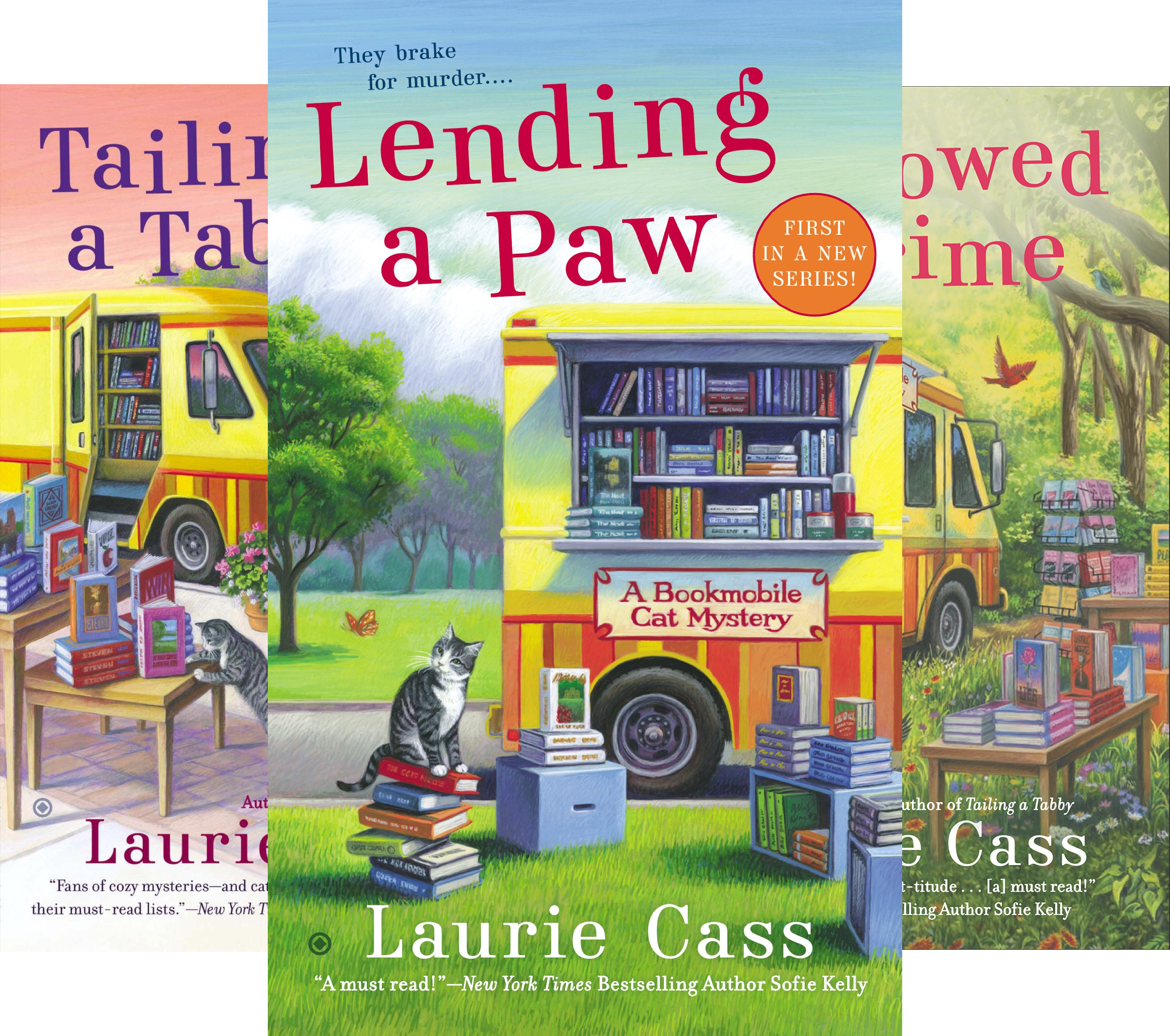 A Bookmobile Cat Mystery (7 Book Series)