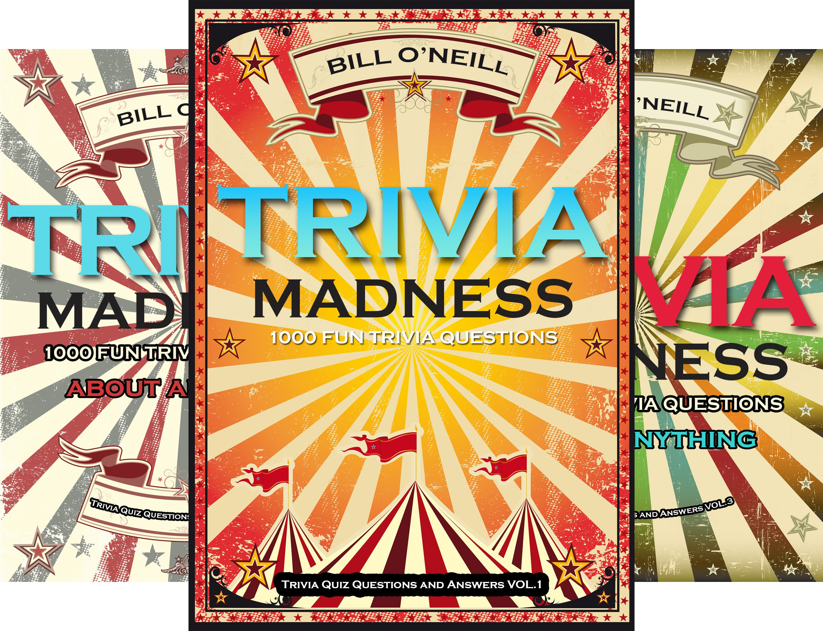 Trivia Quiz Questions and Answers (4 Book Series)