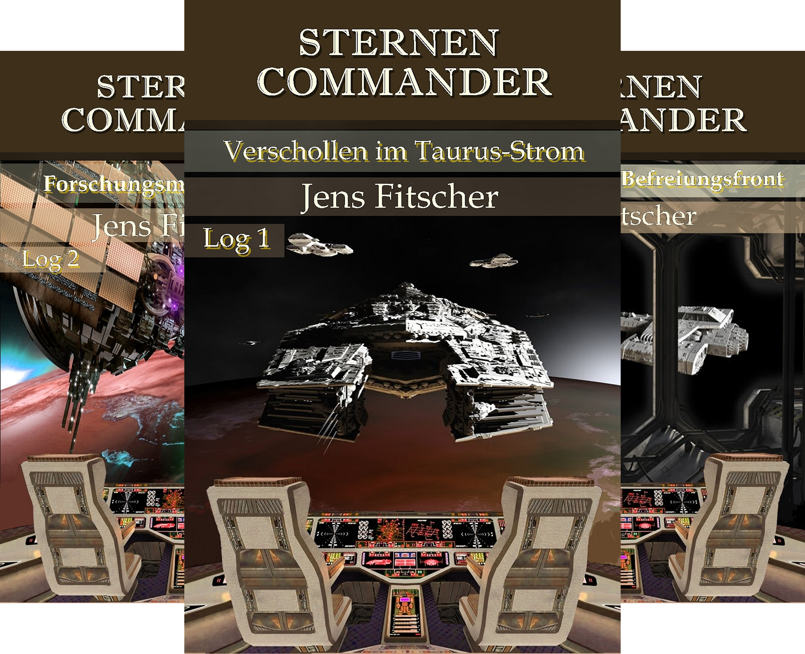 STERNEN COMMANDER (Reihe in 4 Bänden)