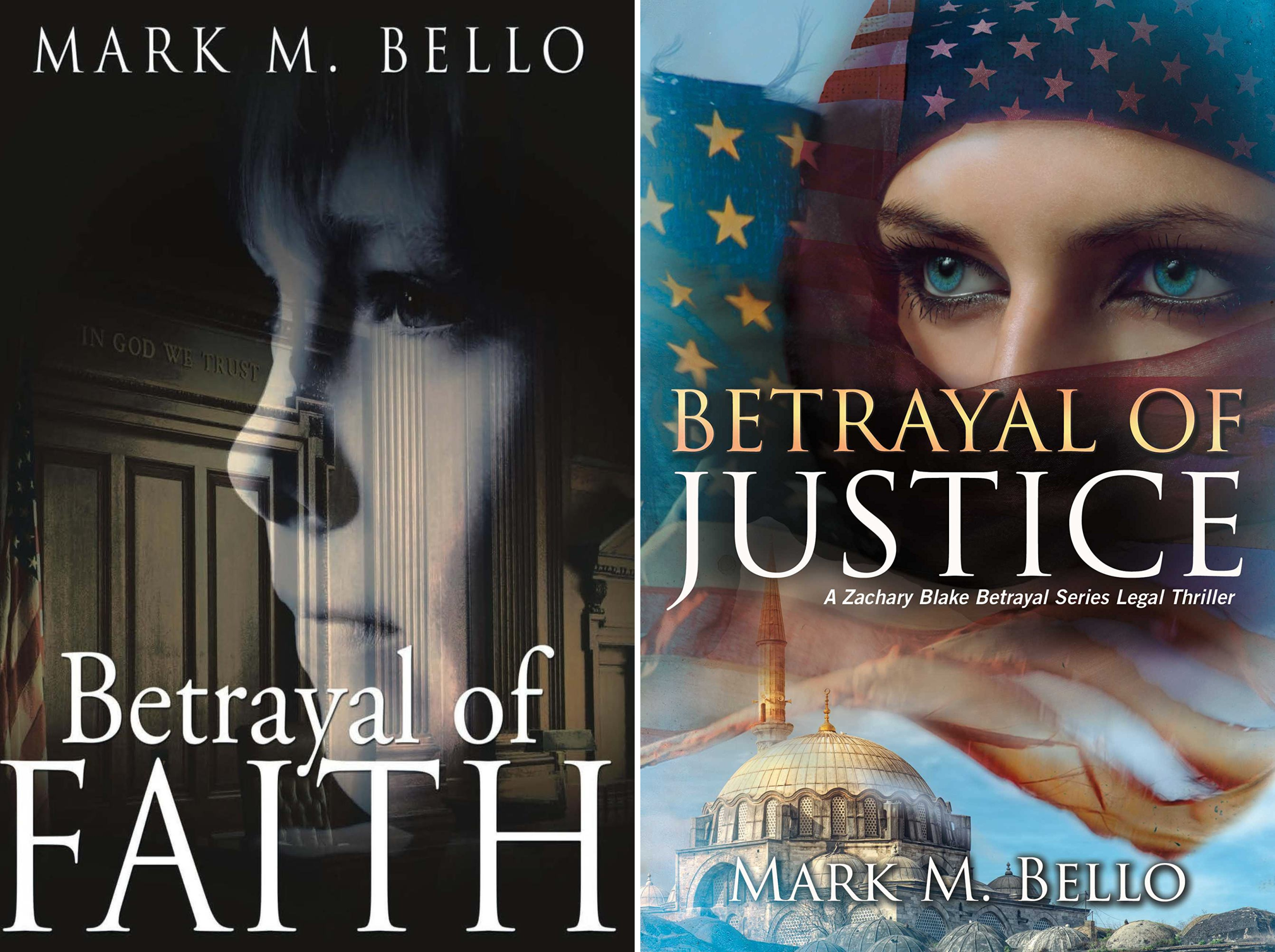 Betrayal Legal Thriller Series (2 Book Series)