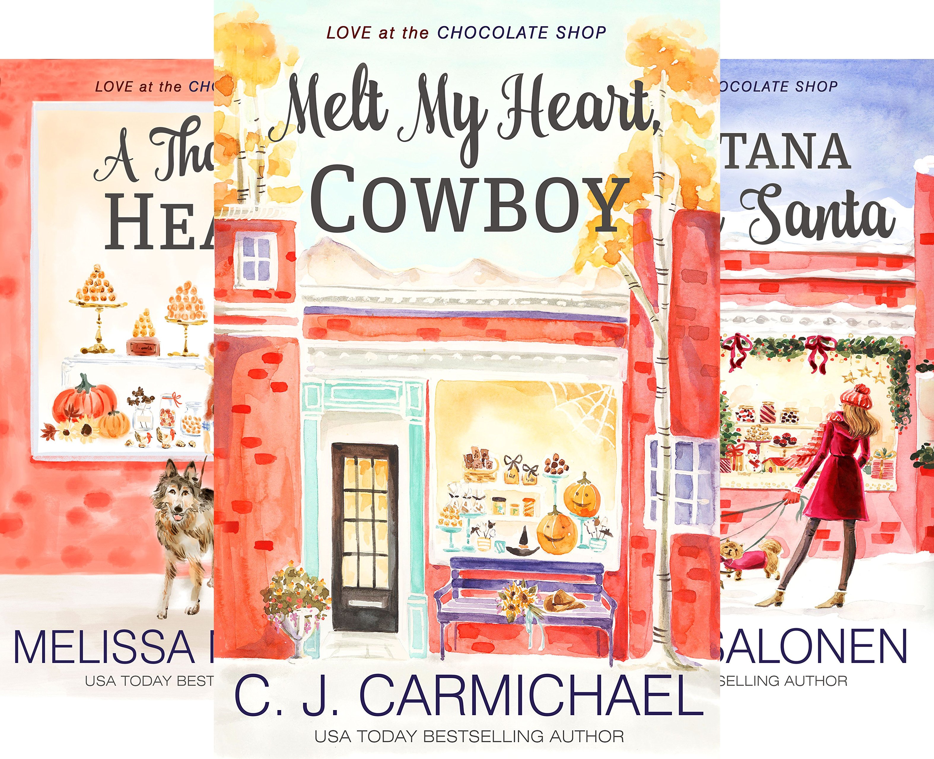 Love at the Chocolate Shop (12 Book Series)