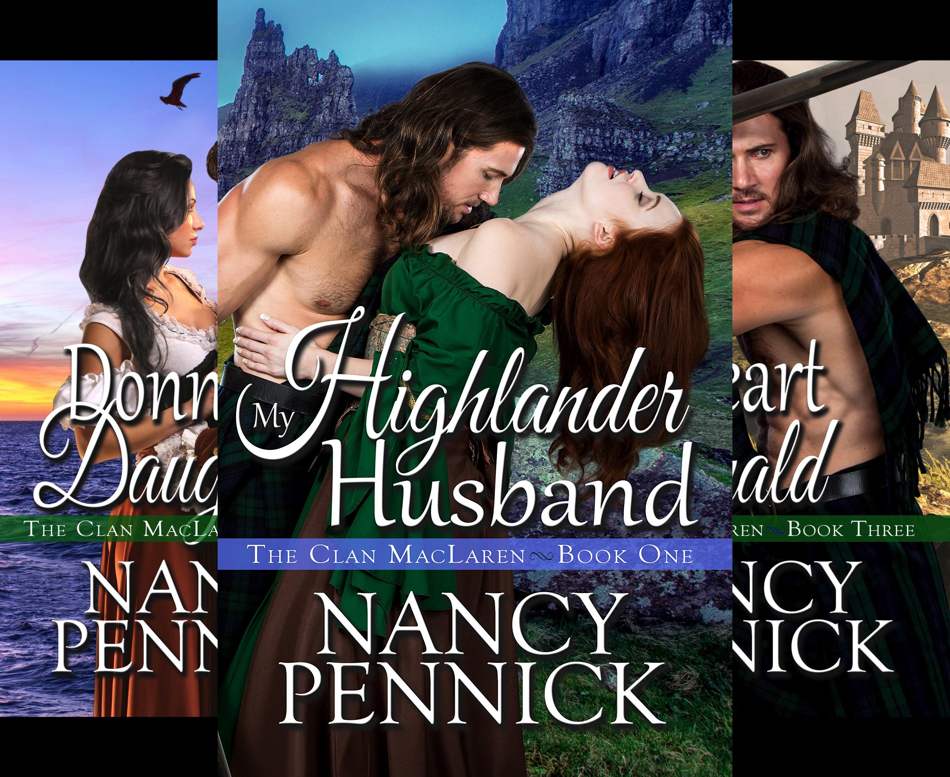 The Clan MacLaren (3 Book Series)