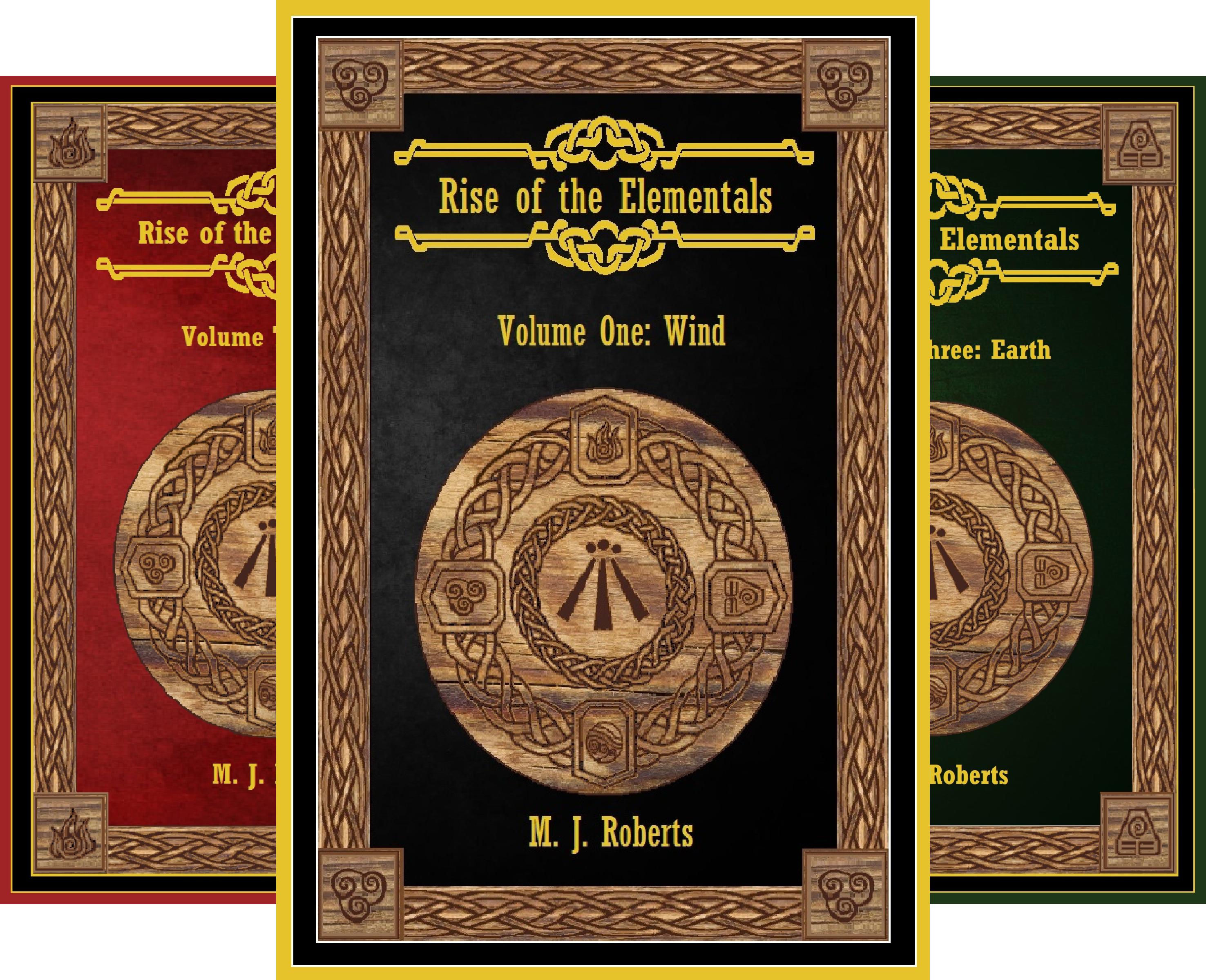 Rise of the Elementals (3 Book Series)