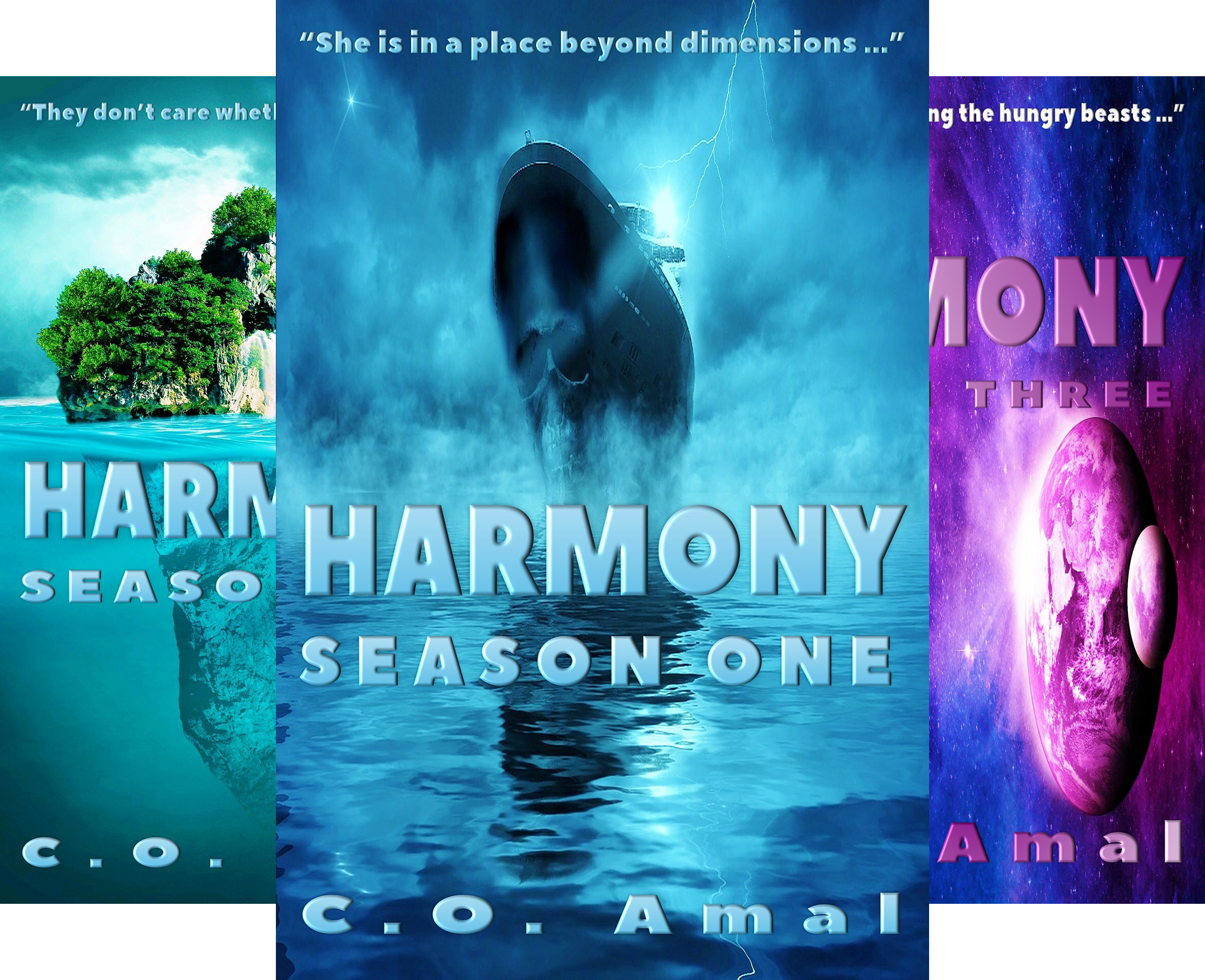 Harmony (3 Book Series)
