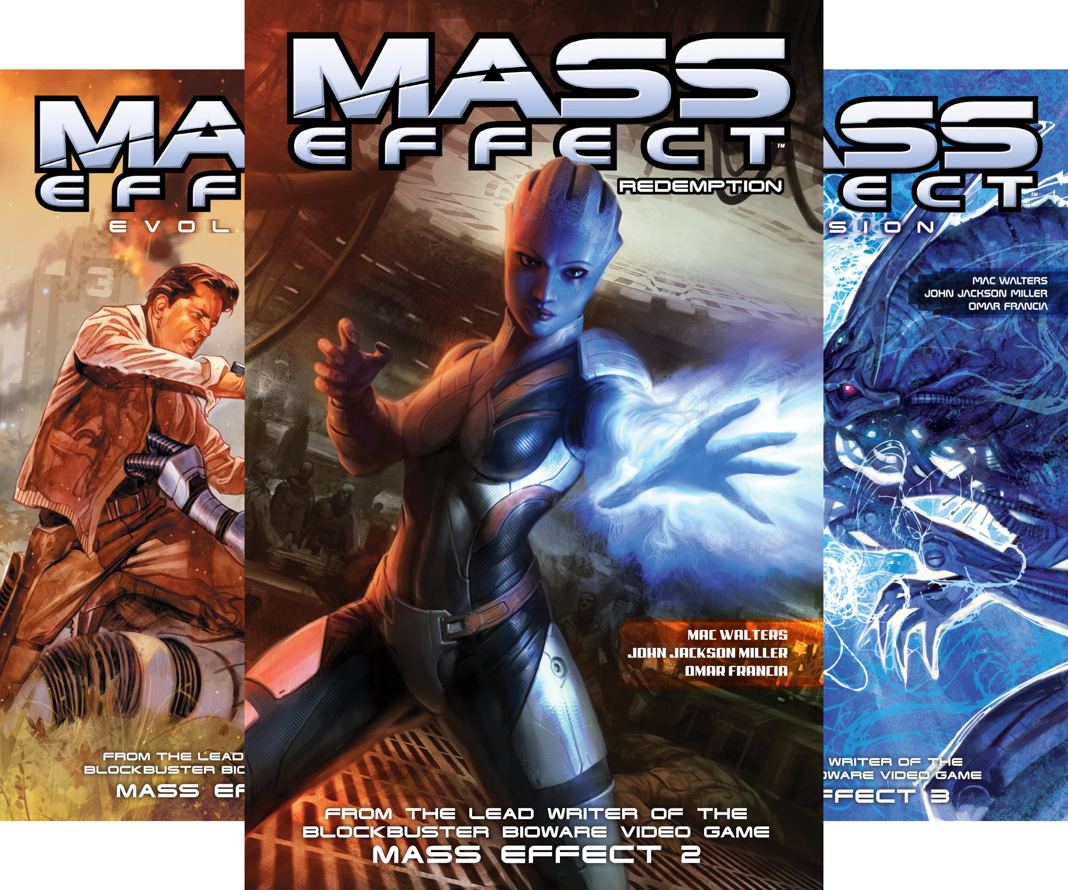 Mass Effect (Collections) (5 Book Series)