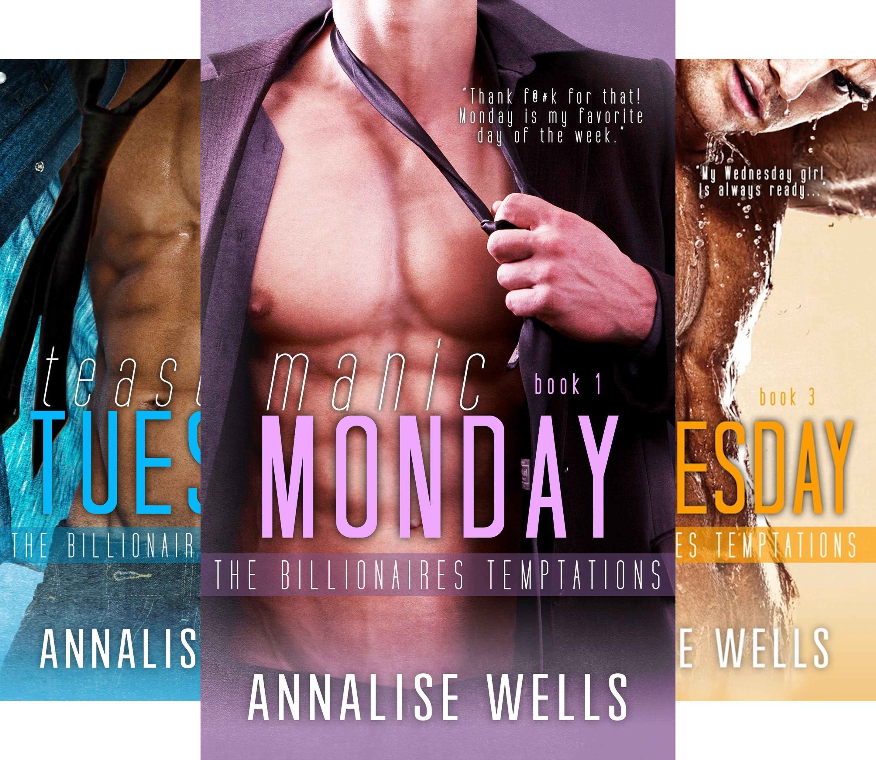 The Billionaires Temptations (6 Book Series)