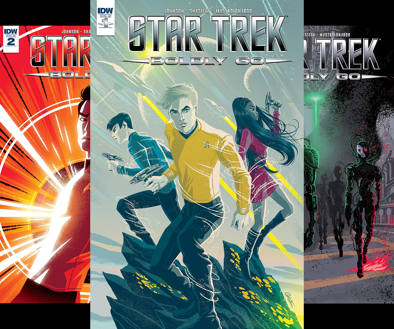 Star Trek: Boldly Go (Issues) (8 Book Series)