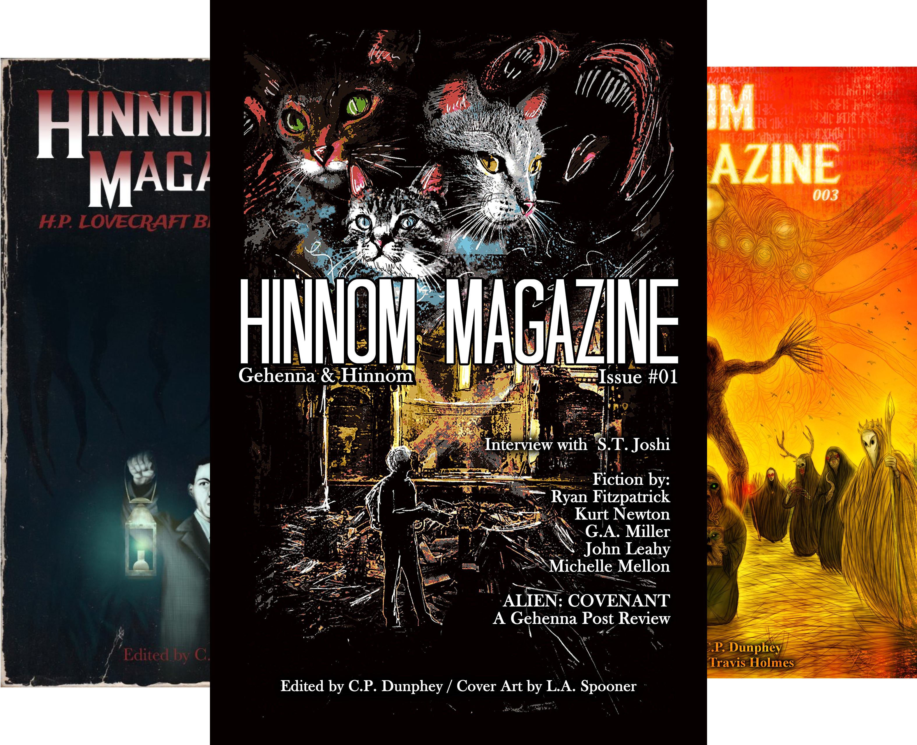 Hinnom Magazine (4 Book Series)