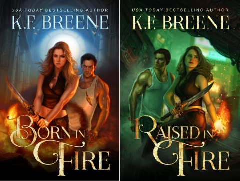 Fire and Ice Trilogy (2 Book Series) (Born In Fire)