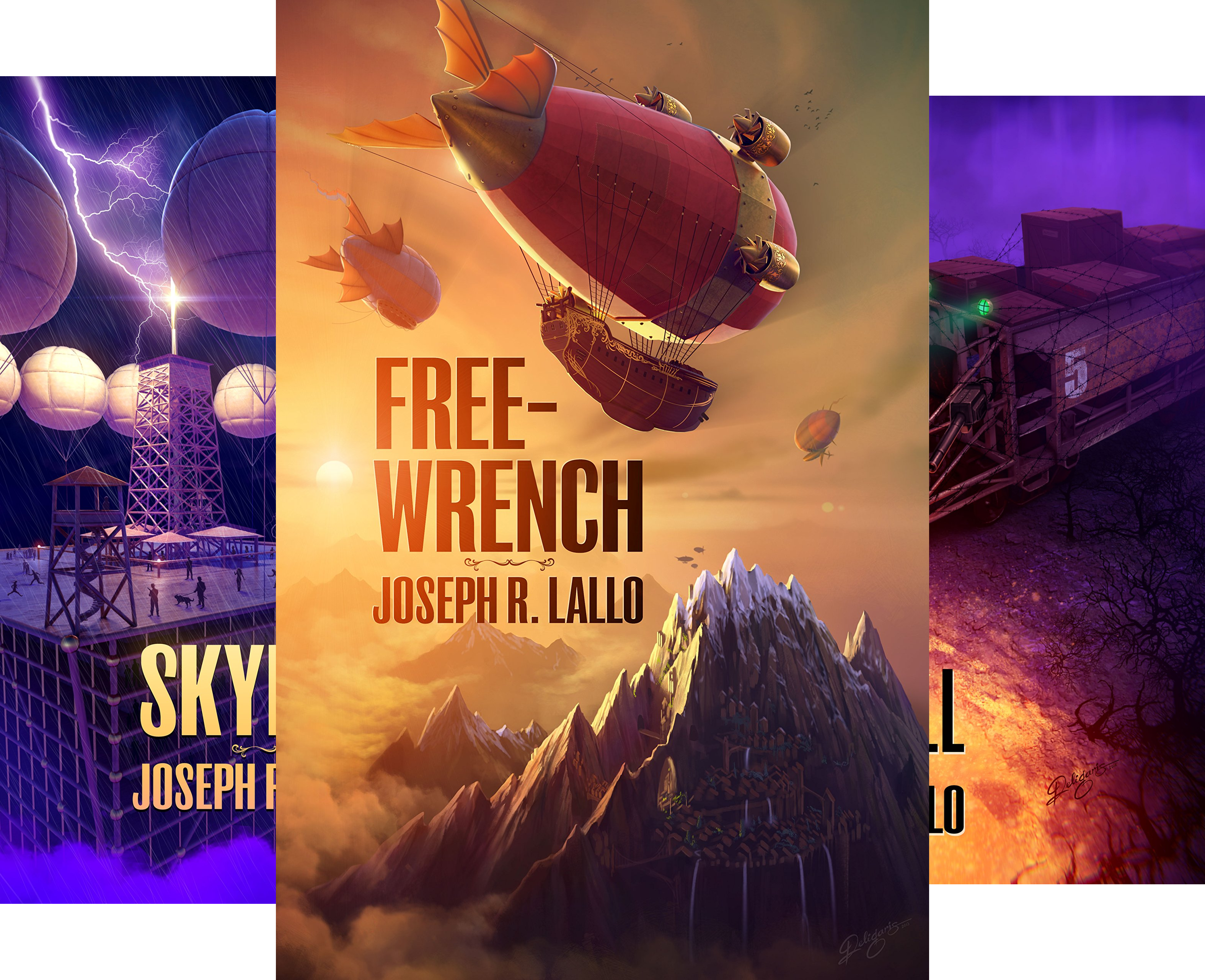 Free-Wrench (4 Book Series)