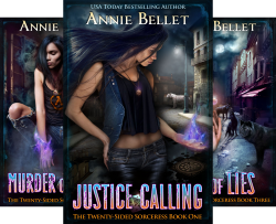 The Twenty-Sided Sorceress (8 Book Series) by  Annie Bellet
