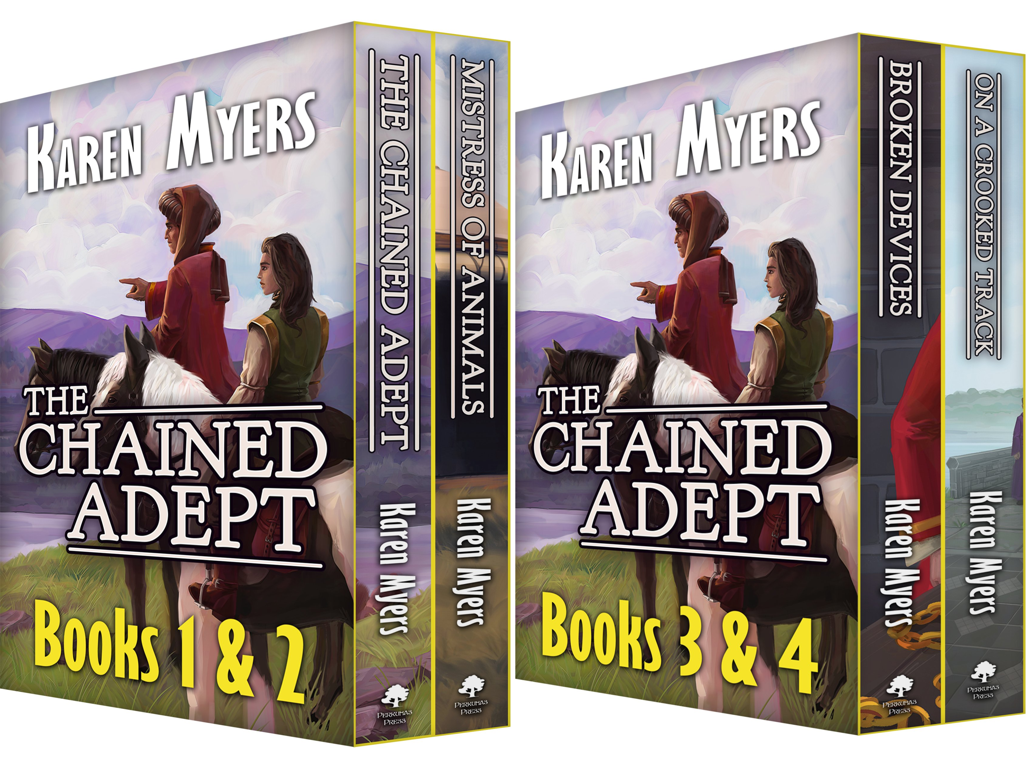 The Chained Adept Bundle (2 Book Series)