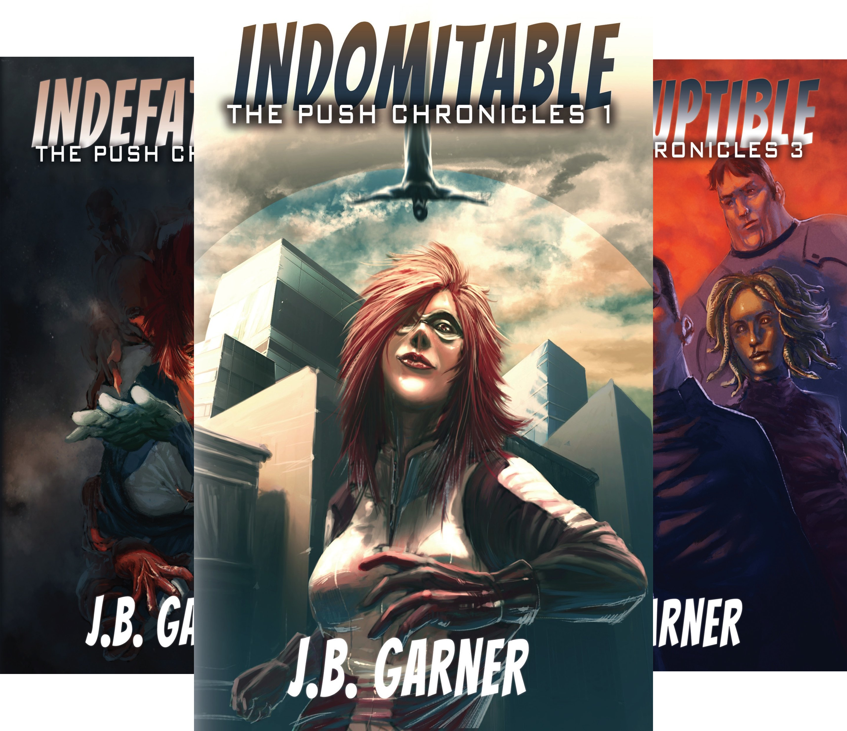The Push Chronicles (3 Book Series)