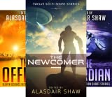 img - for Scifi Anthologies (3 Book Series) book / textbook / text book