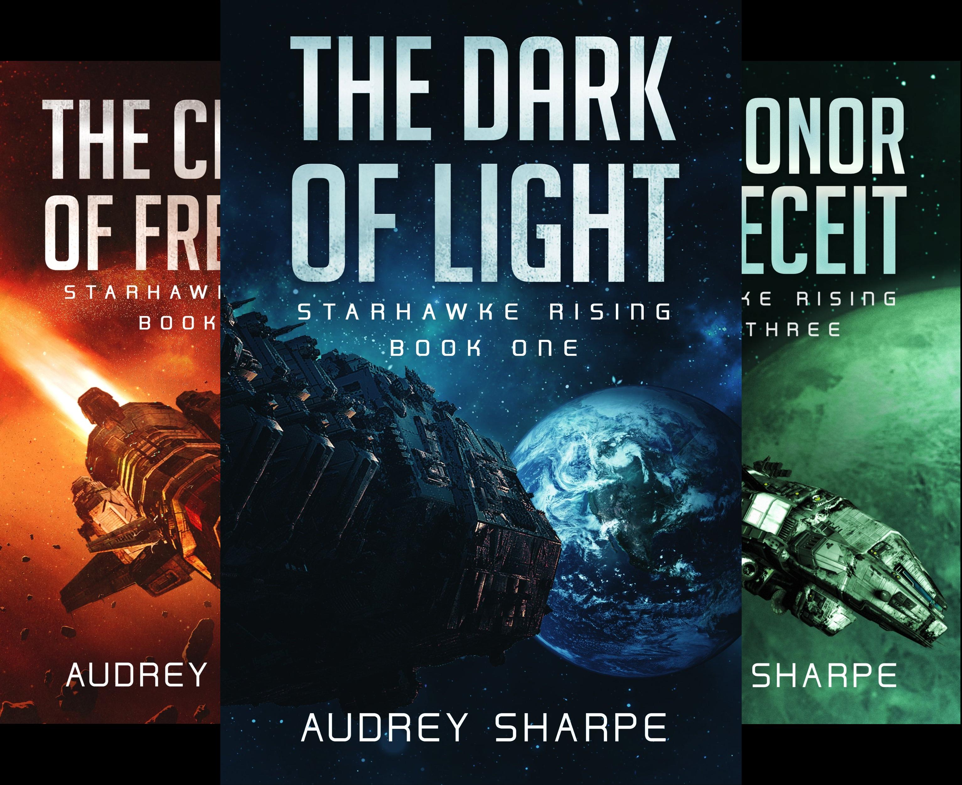 Starhawke Rising (3 Book Series)