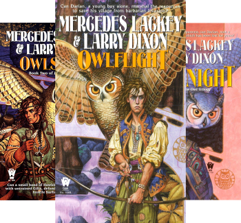 The Owl Mage Trilogy (3 Book Series) Kindle Edition by Mercedes Lackey, Larry Dixon