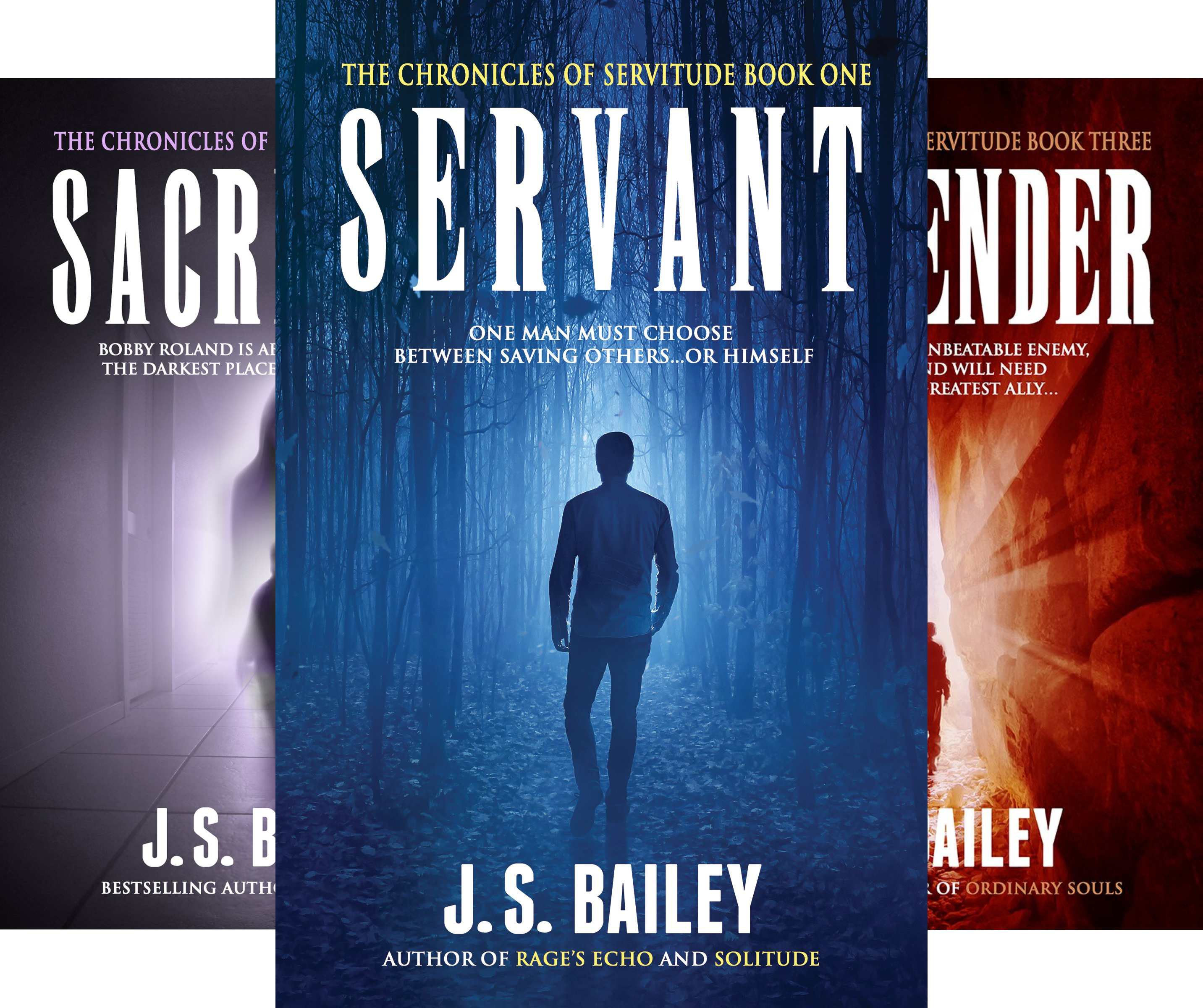 The Chronicles of Servitude (3 Book Series)