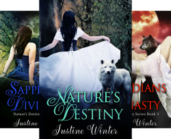 Nature's Destiny (4 Book Series) by  Justine Winter