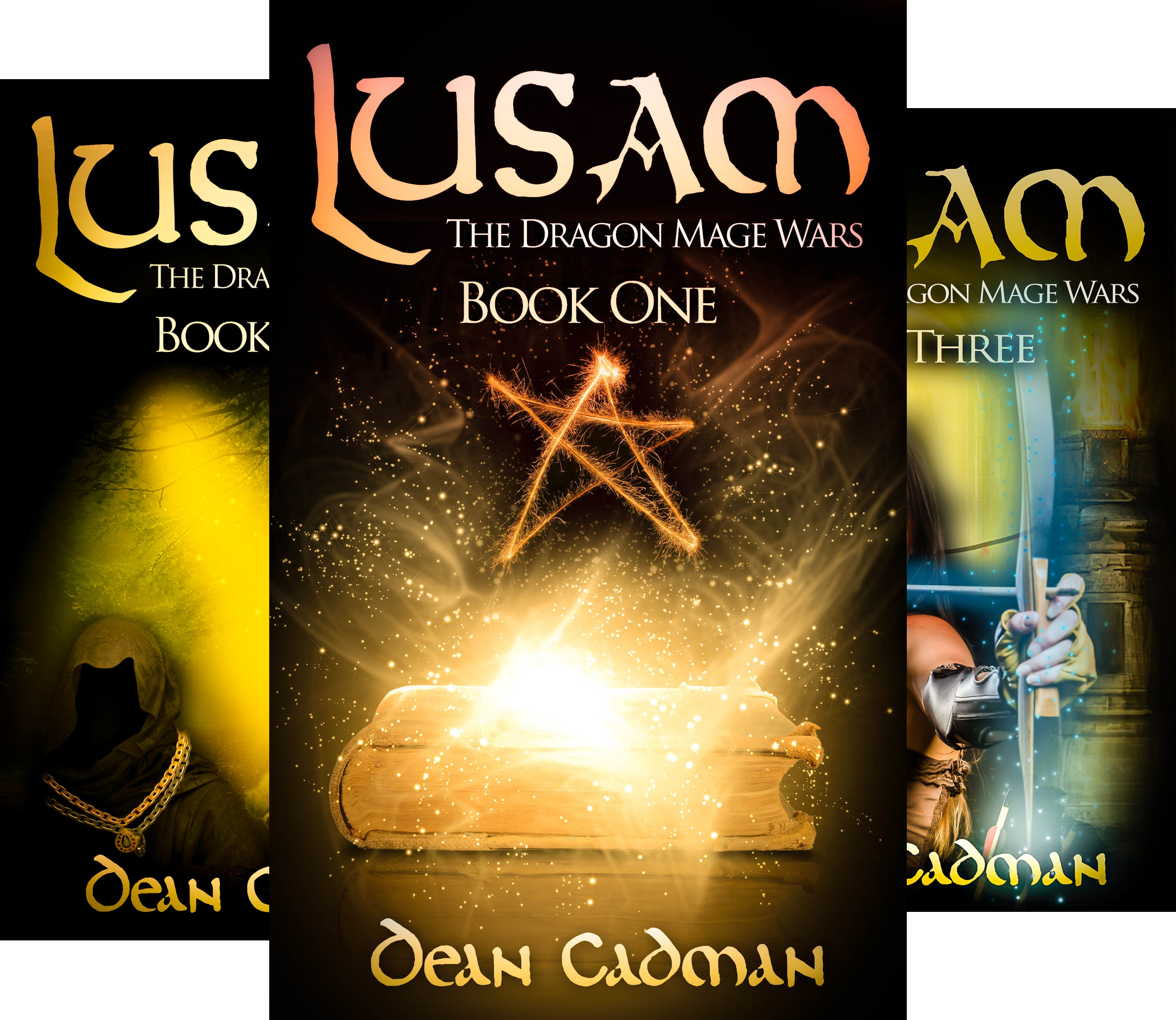The Dragon Mage Wars (5 Book Series)