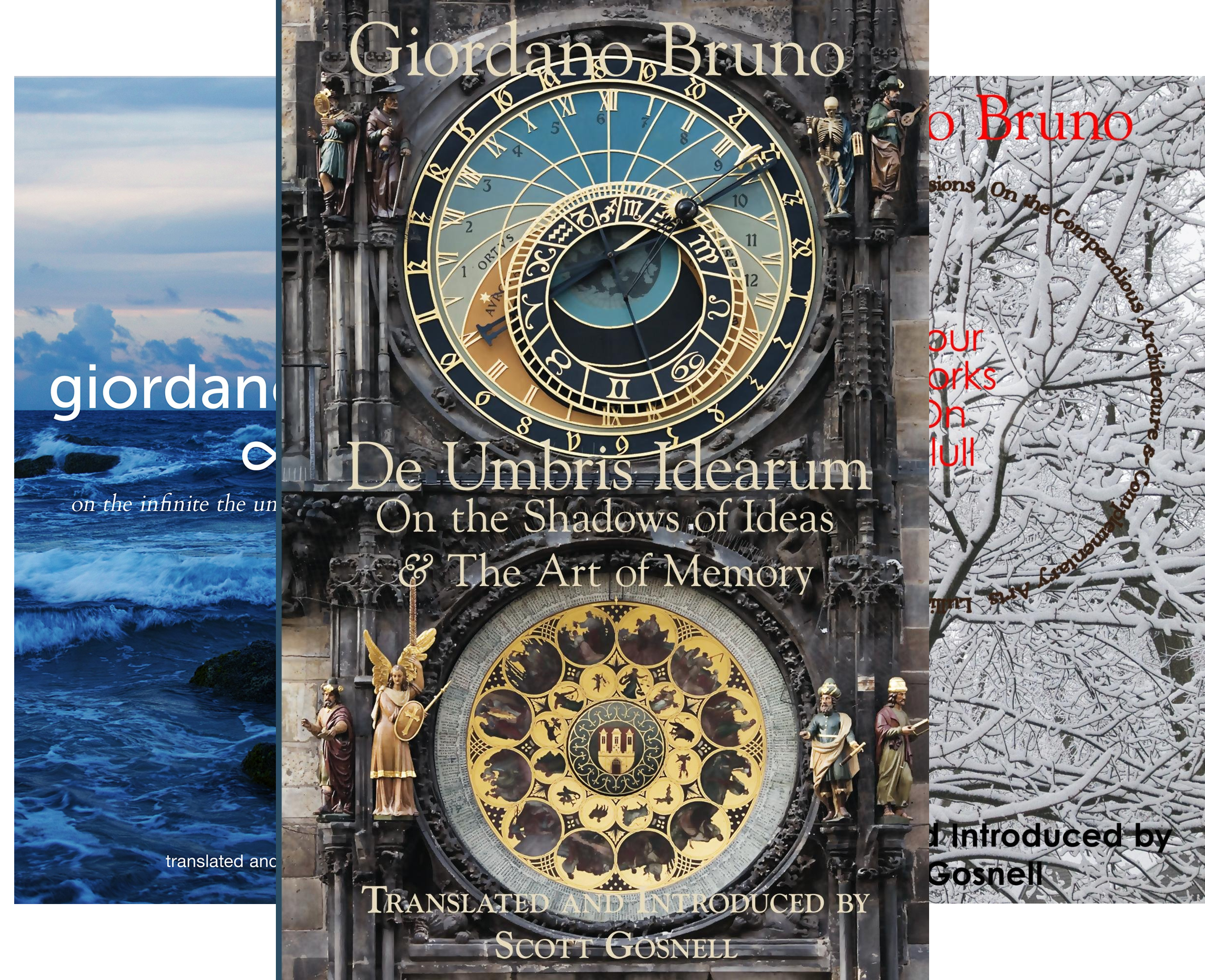 Collected Works of Giordano Bruno (5 Book Series)