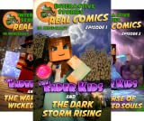 Real Comics in Minecraft - The Ender Kids (6 Book Series)