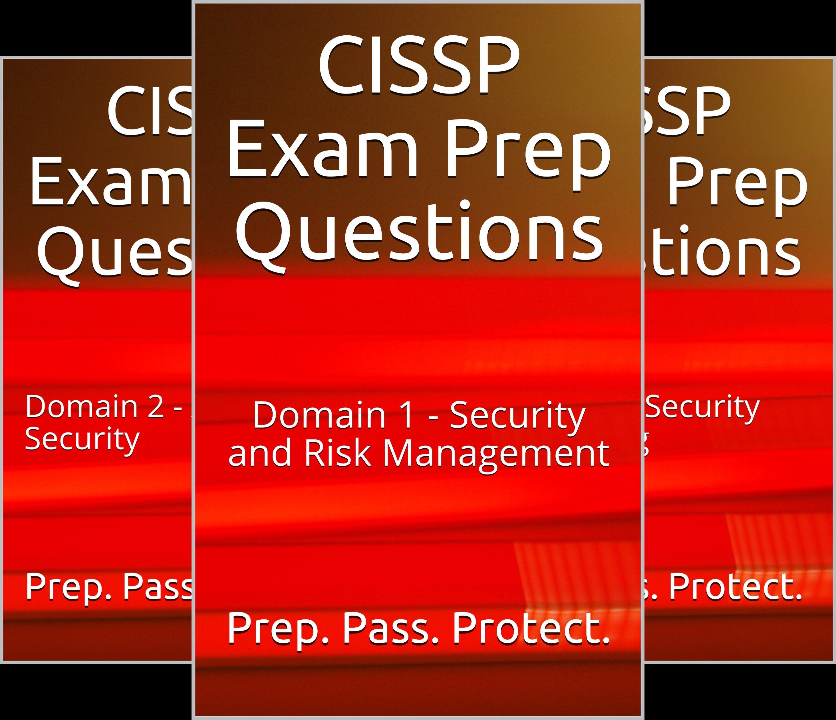 CISSP Exam Prep Questions (8 Book Series)