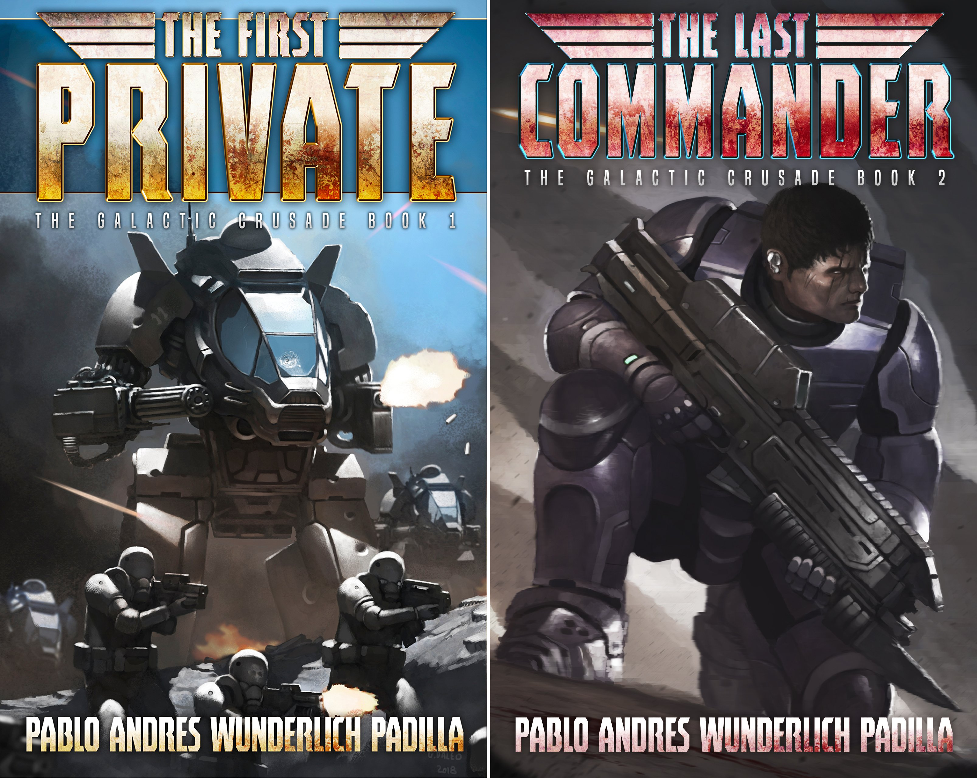 The Galactic Crusade (2 Book Series)