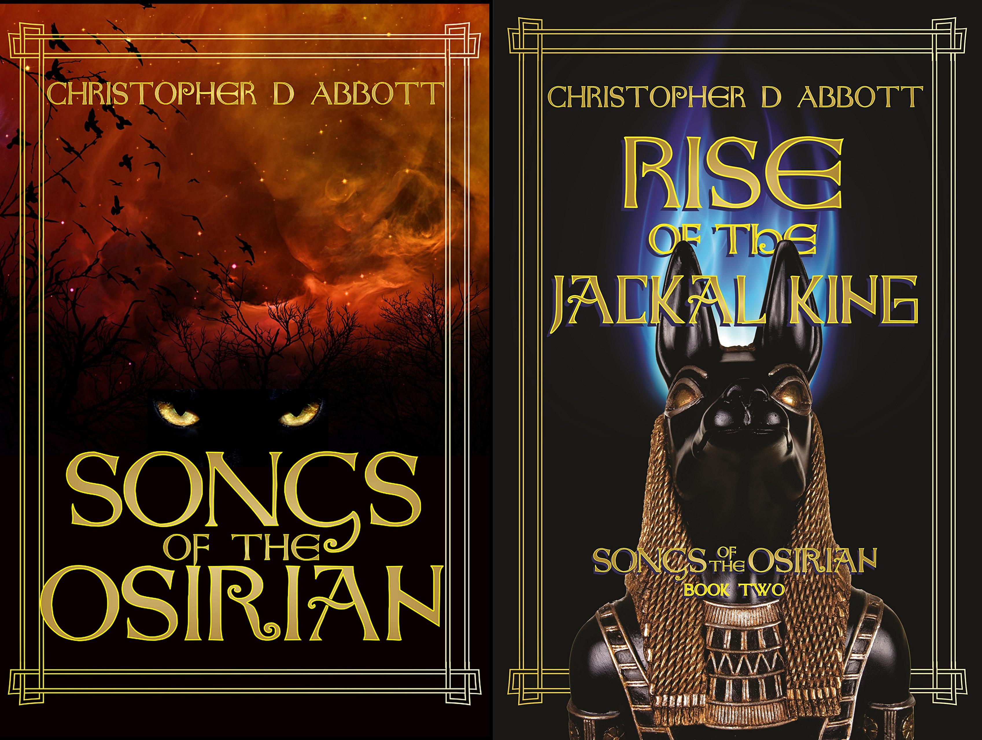 Songs of the Osirian (2 Book Series)