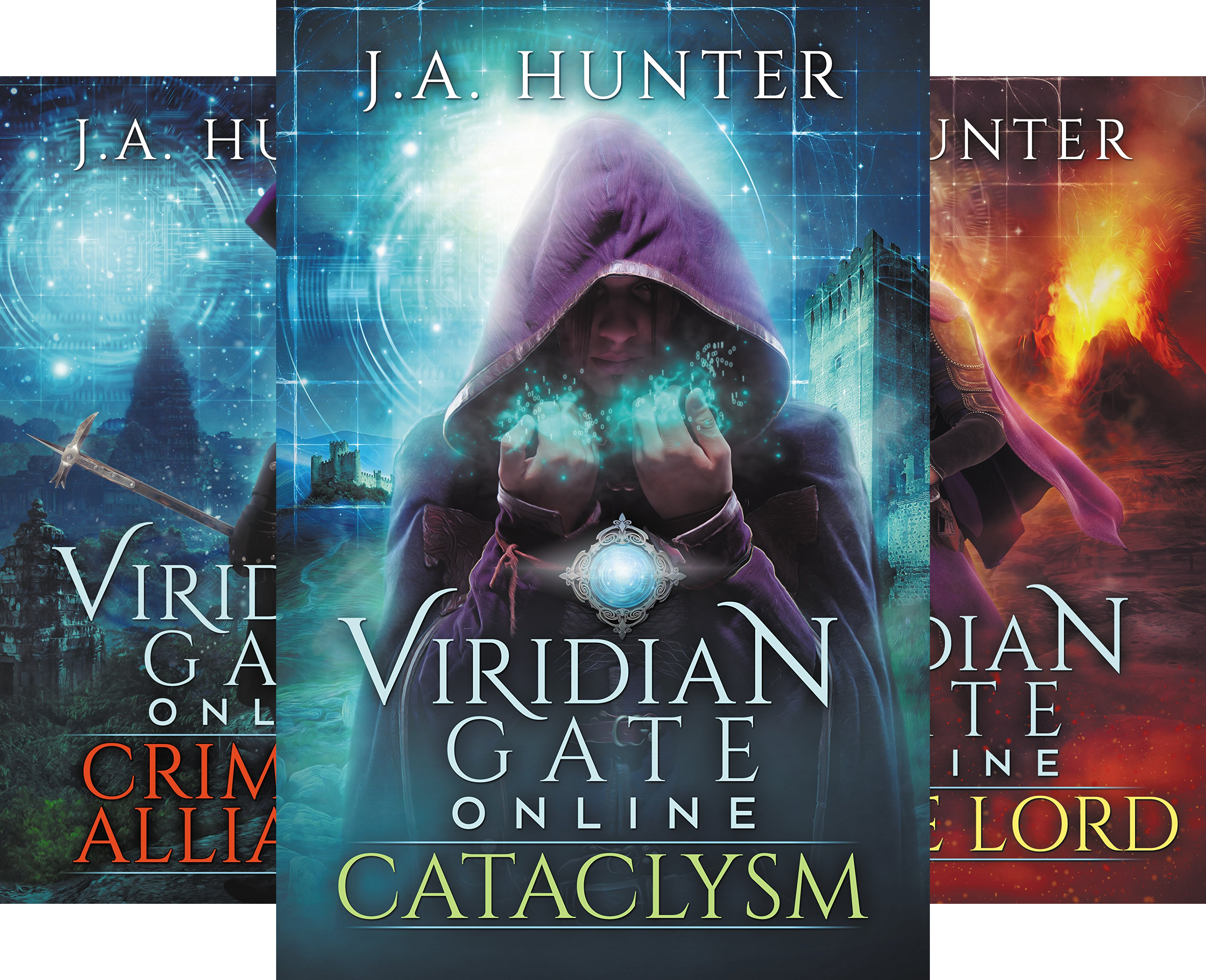 The Viridian Gate Archives (4 Book Series)