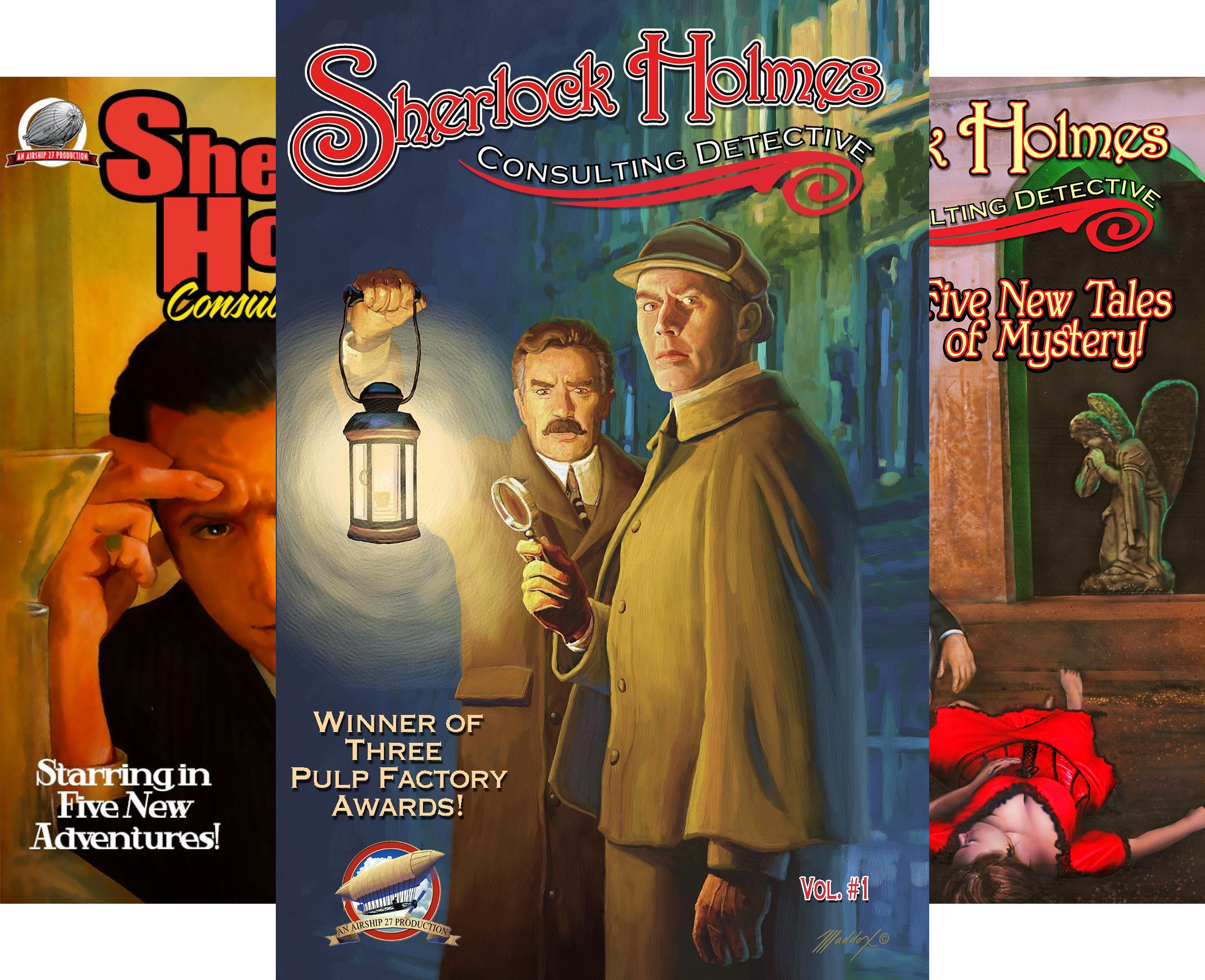 Sherlock Holmes - Consulting Detective (8 Book Series)